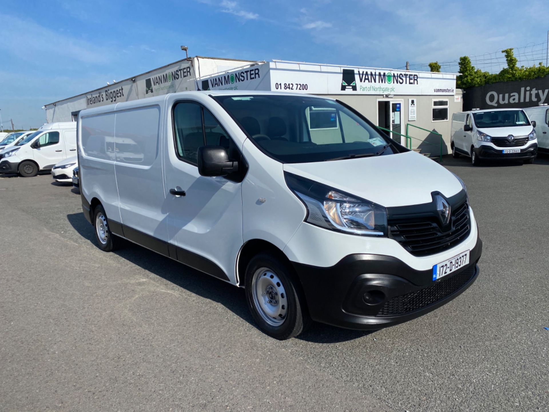 2017 Renault Trafic LL29 DCI 120 Business 3DR (172D19377) Image 1