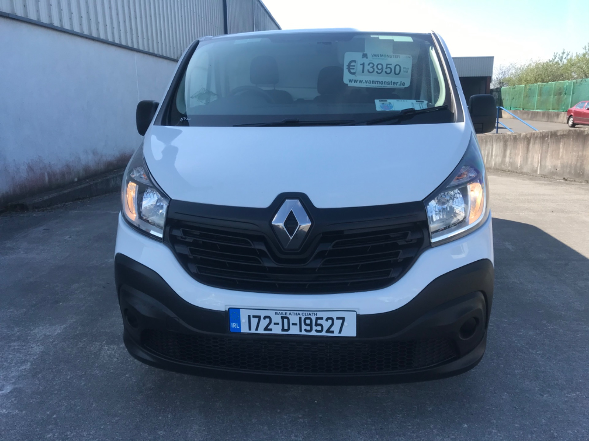 2017 Renault Trafic LL29 DCI 120 Business 3DR (172D19527) Image 2