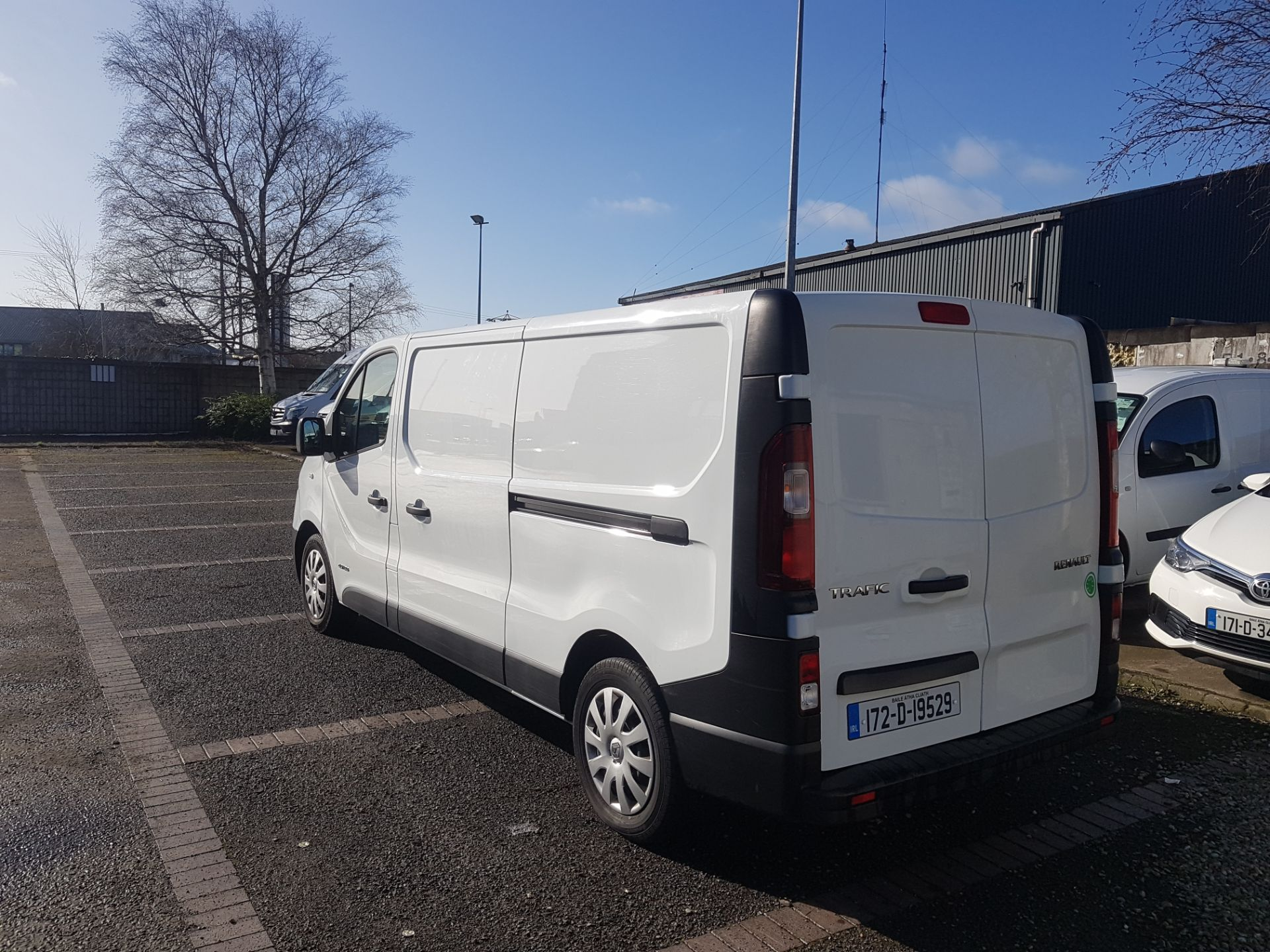 2017 Renault Trafic LL29 DCI 120 Business 3DR (172D19529) Image 3
