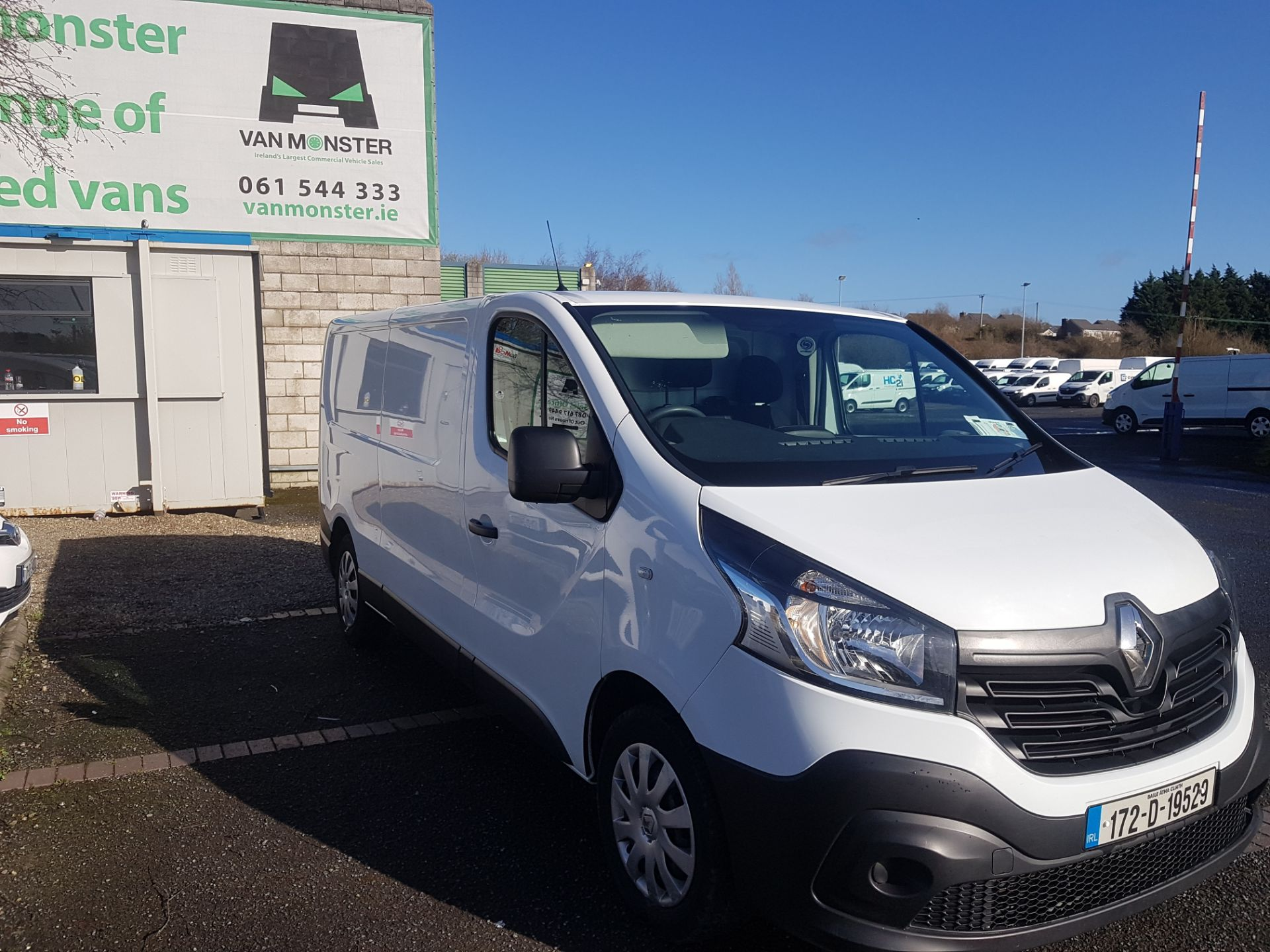 2017 Renault Trafic LL29 DCI 120 Business 3DR (172D19529) Image 7