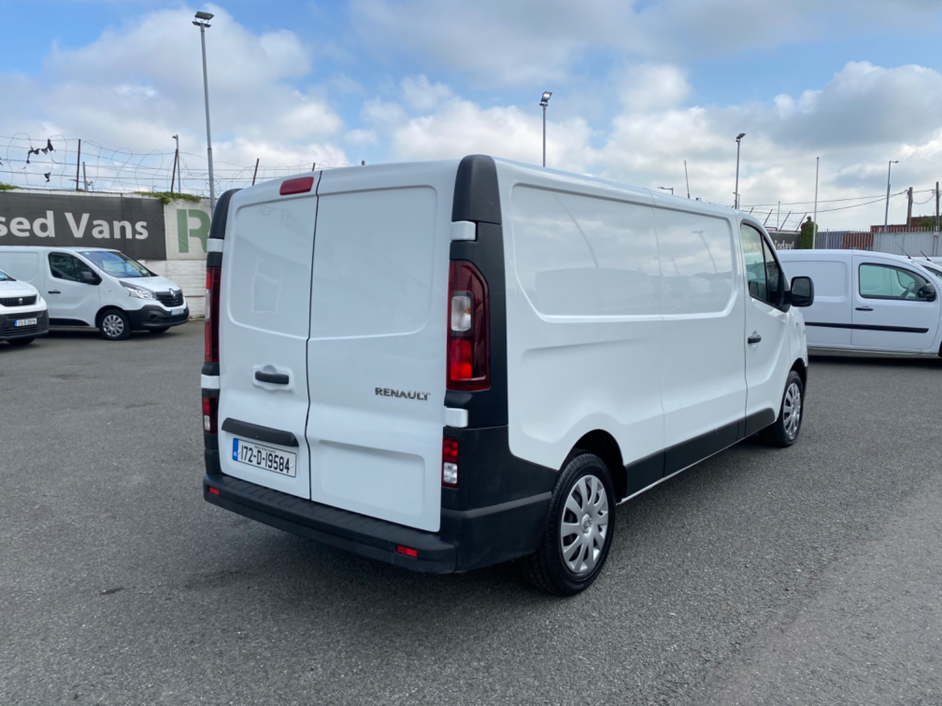 2017 Renault Trafic LL29 DCI 120 Business 3DR (172D19584) Image 7