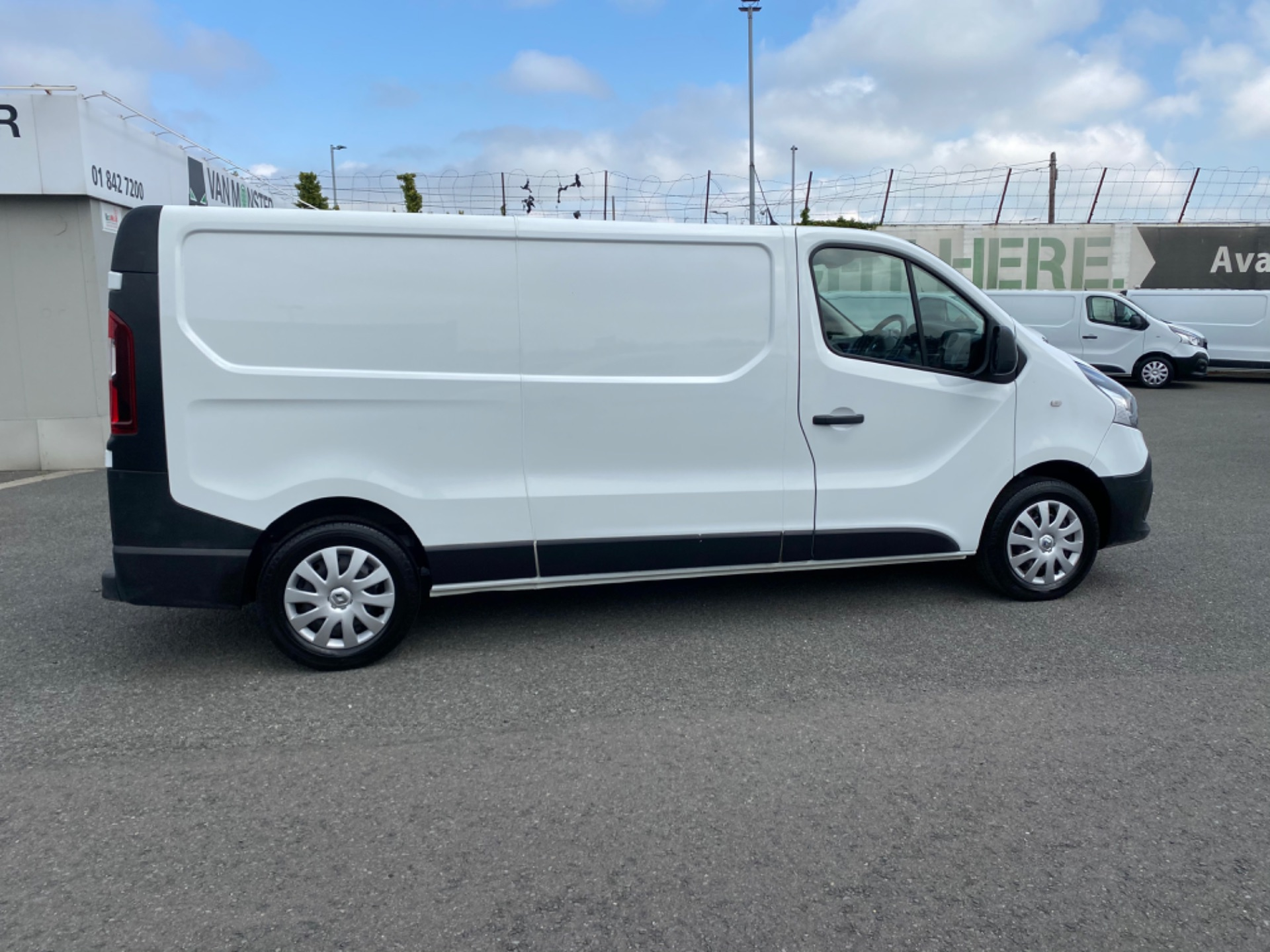 2017 Renault Trafic LL29 DCI 120 Business 3DR (172D19584) Image 8