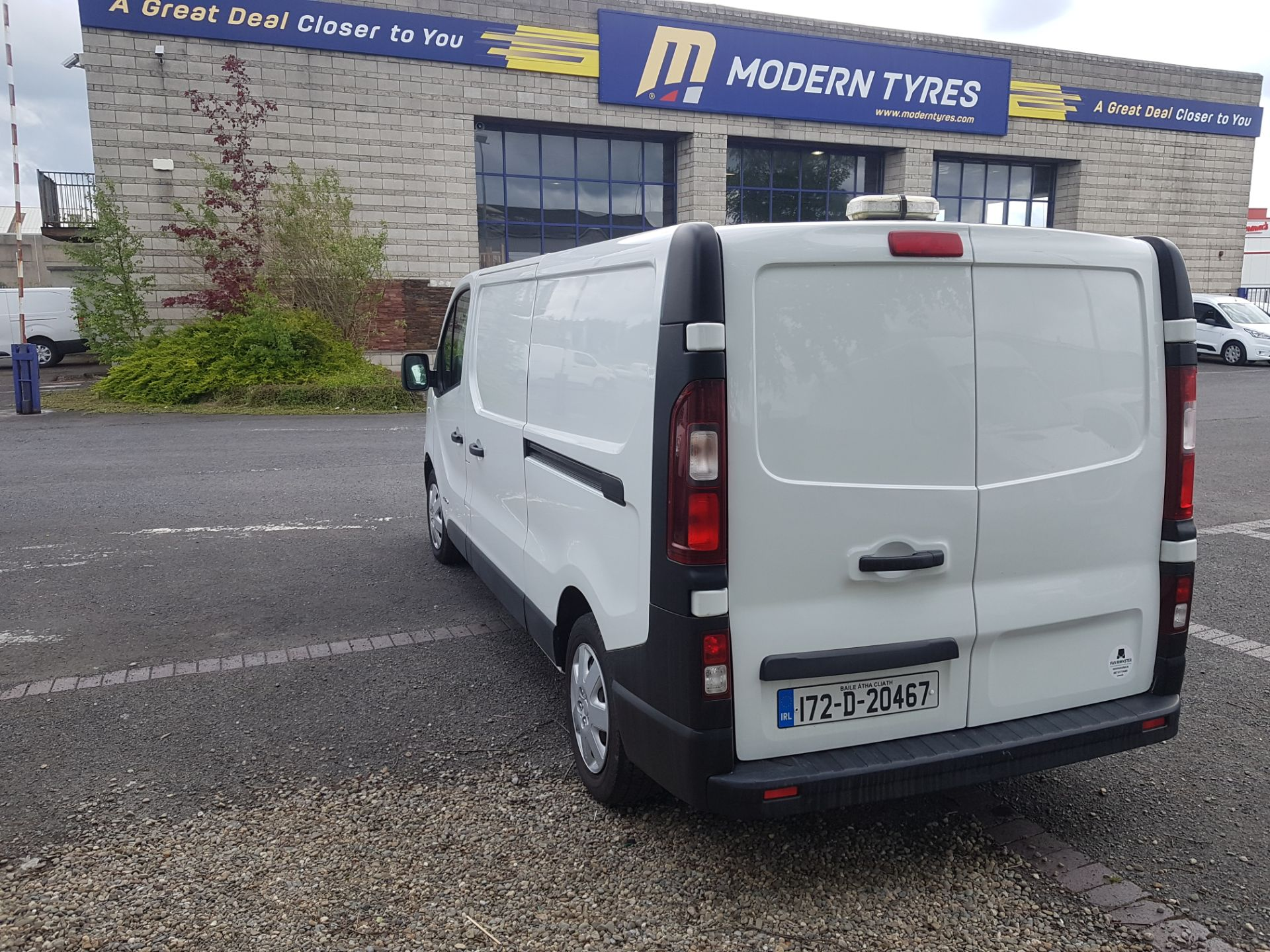 2017 Renault Trafic LL29 DCI 120 Business 3DR (172D20467) Image 5