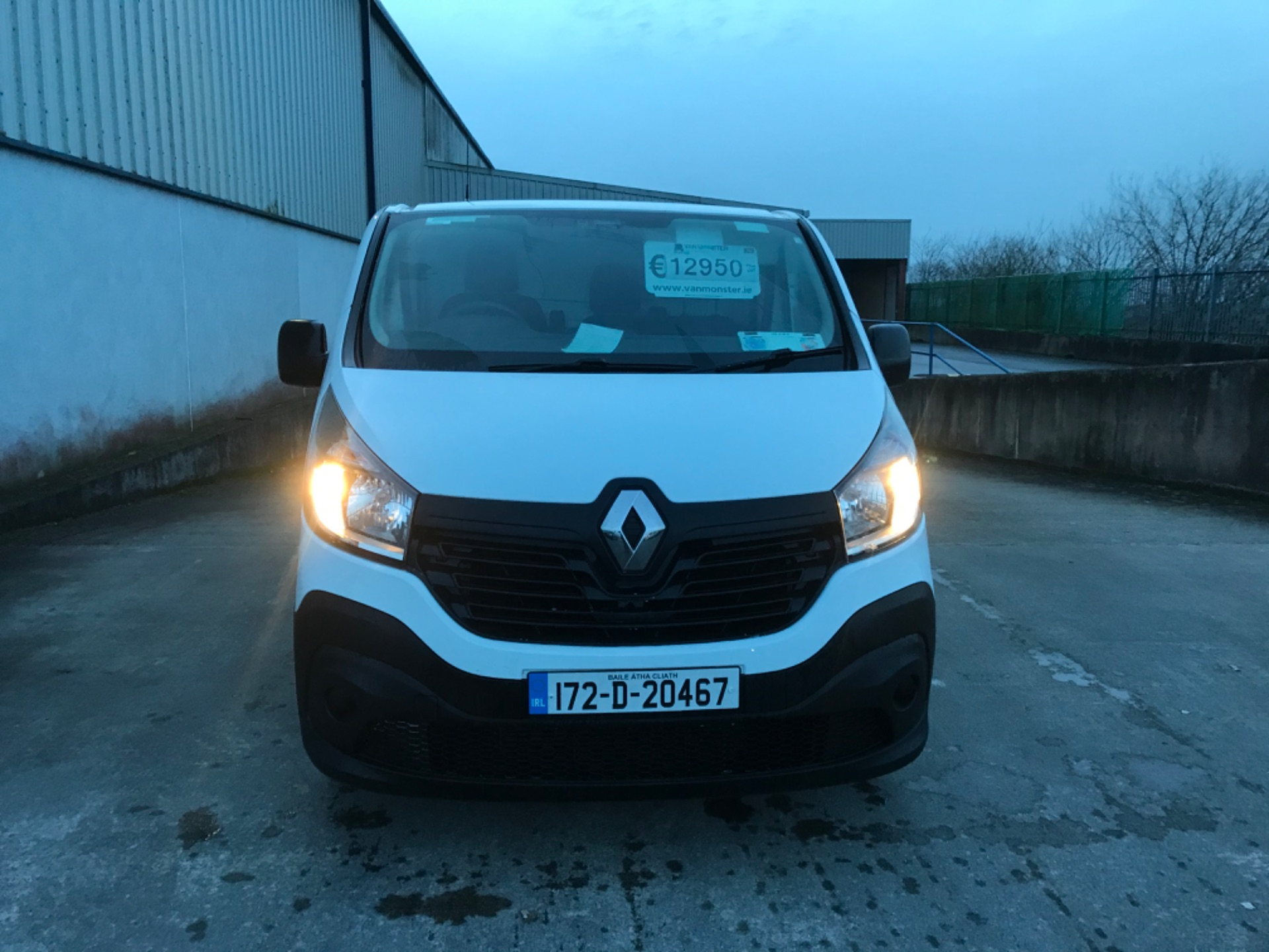 2017 Renault Trafic LL29 DCI 120 Business 3DR (172D20467) Image 7
