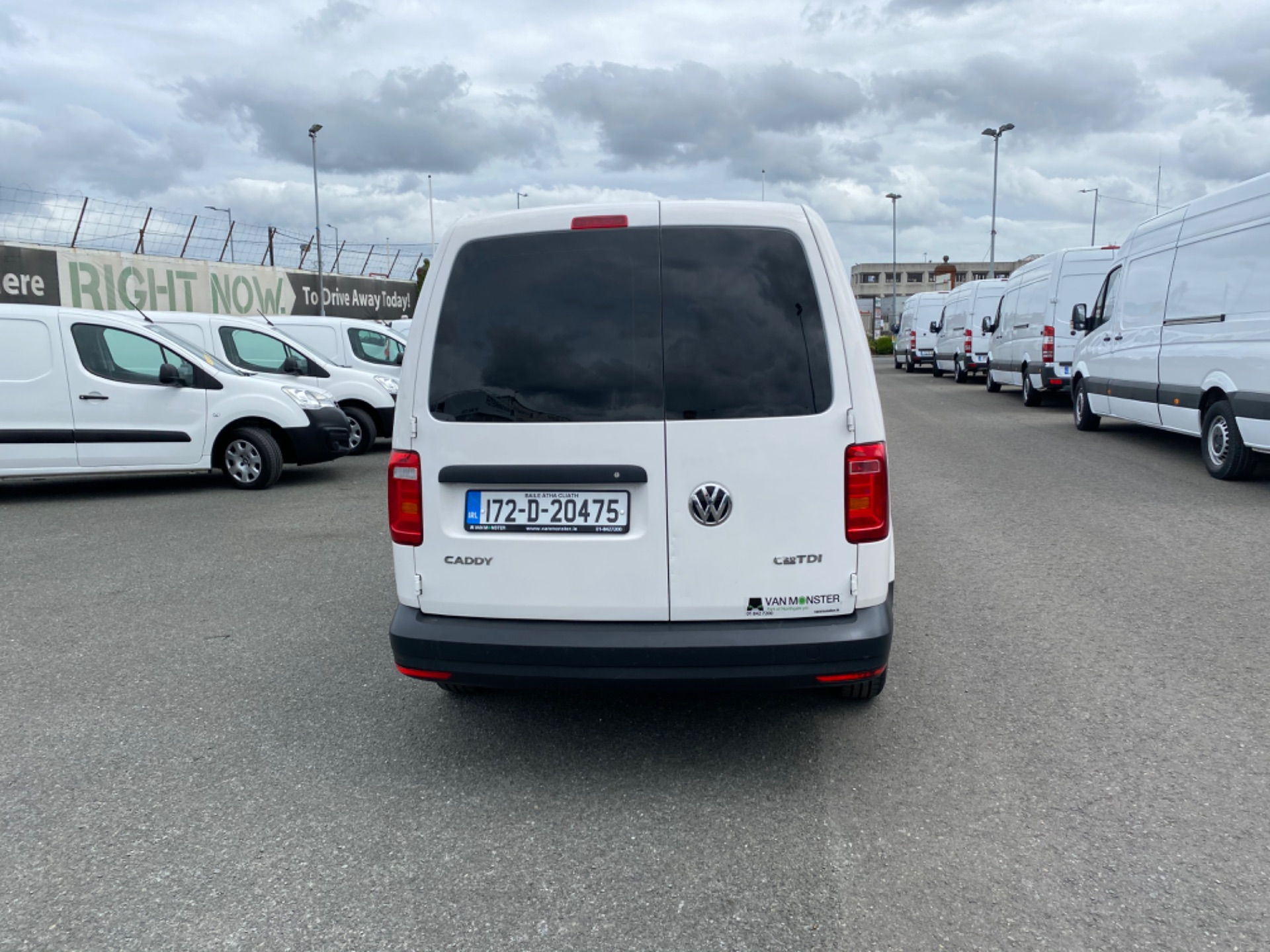 2017 Volkswagen CADDY MAXI C20 TDI STARTLINE (172D20475) Image 5