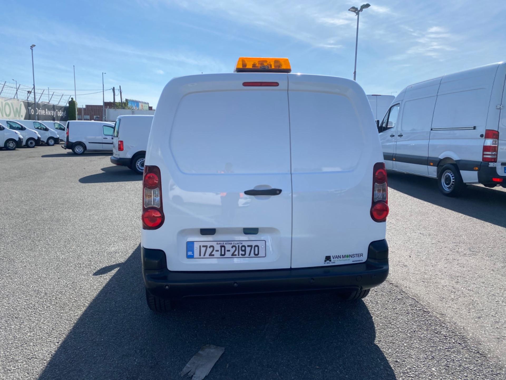 2017 Peugeot Partner Professional 1.6 Blue HDI 100 (172D21970) Image 6