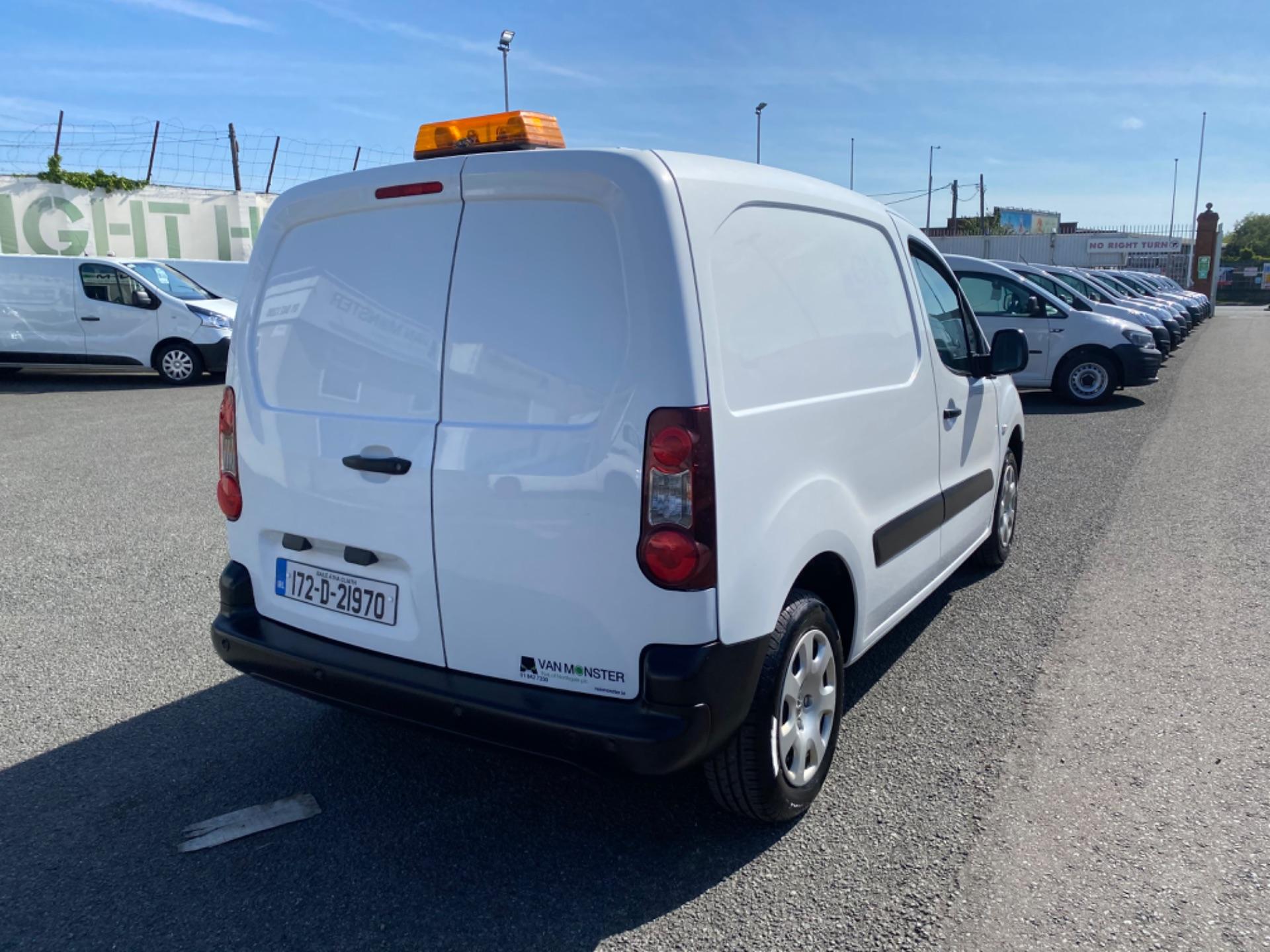 2017 Peugeot Partner Professional 1.6 Blue HDI 100 (172D21970) Image 7