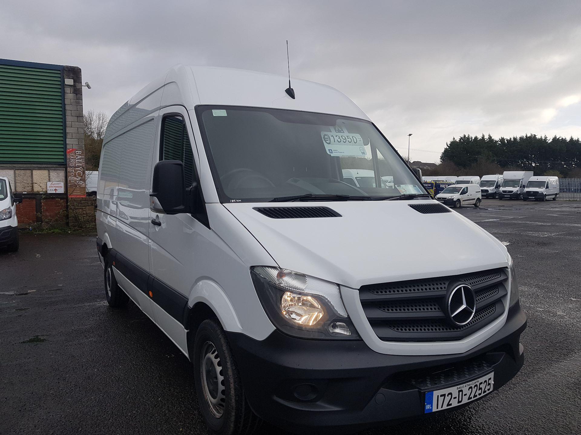 2017 Mercedes-Benz Sprinter 314/36 EU6 6DR (172D22525)