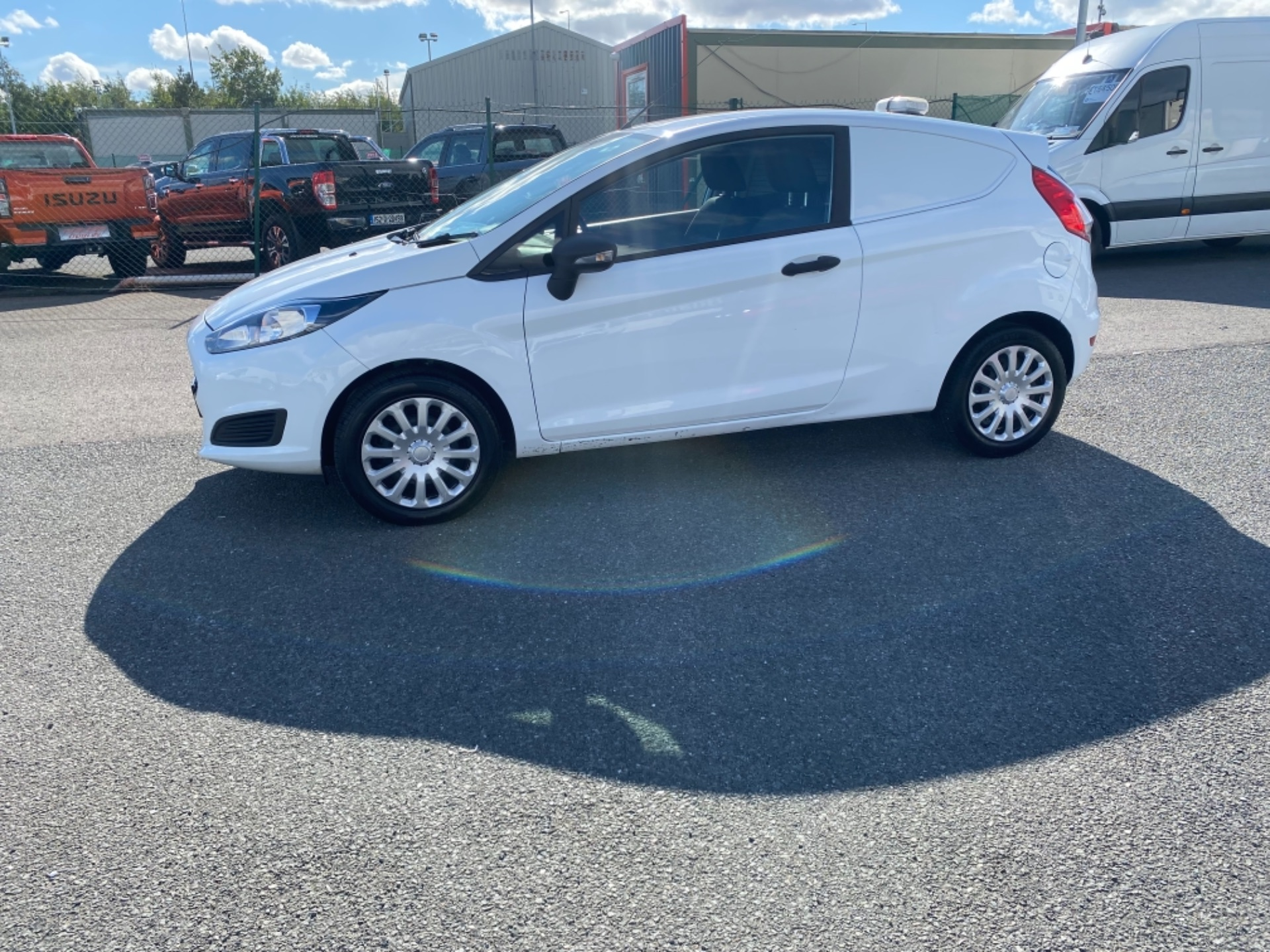 2017 Ford Fiesta BASE TDCI (172D22671) Image 4