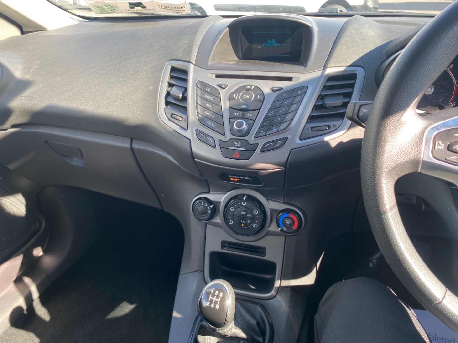 2017 Ford Fiesta BASE TDCI (172D22671) Image 11