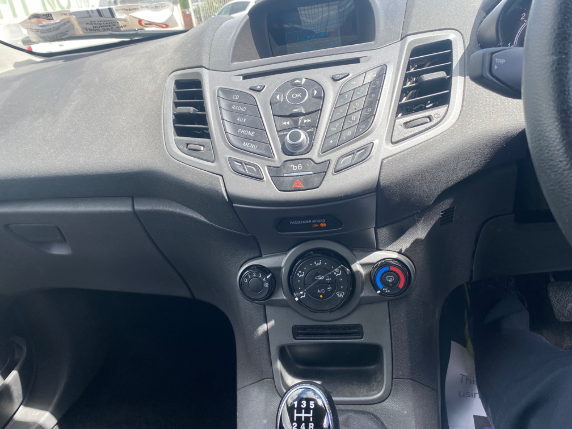 2017 Ford Fiesta BASE TDCI (172D22707) Image 11