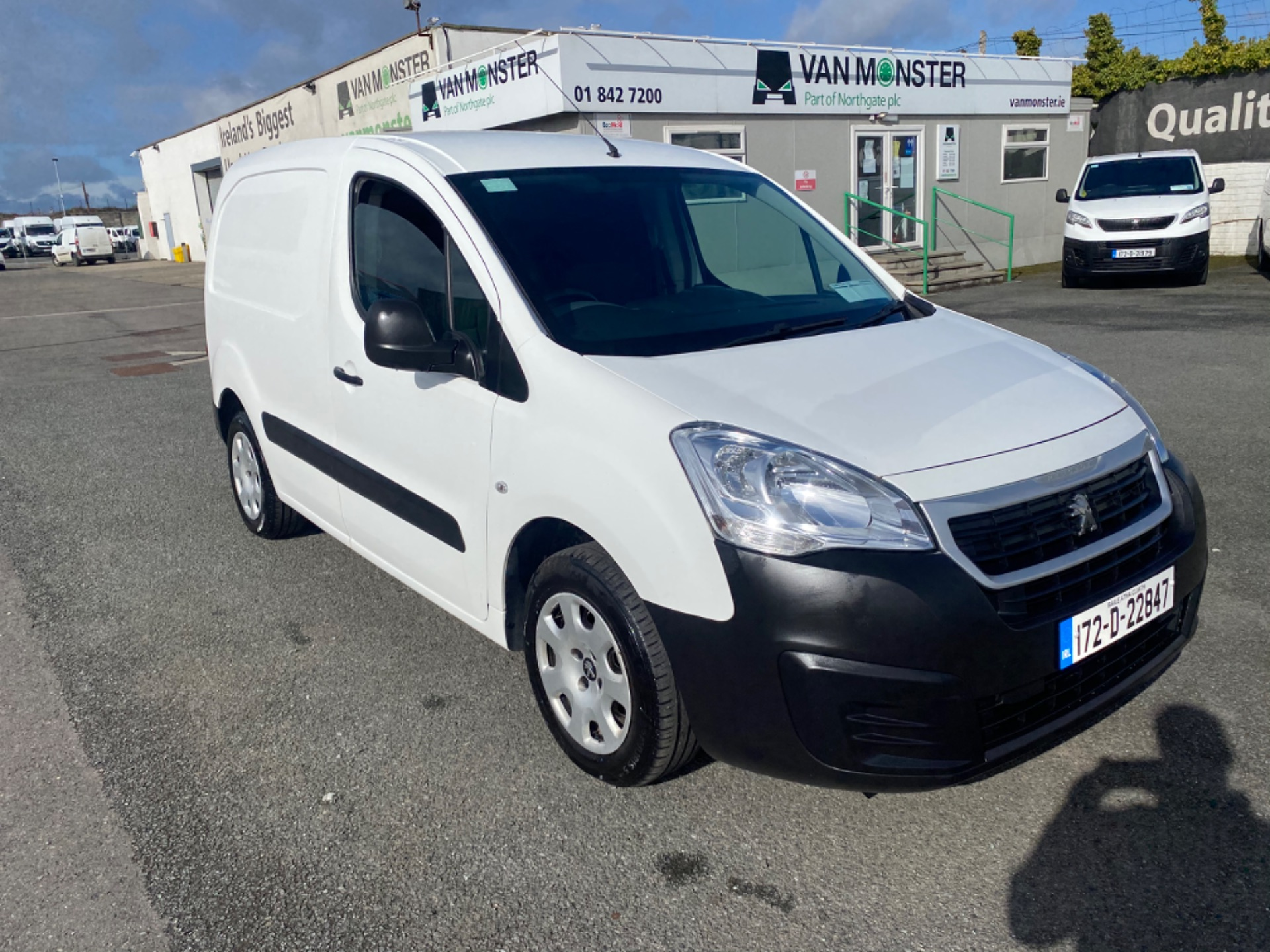 2017 Peugeot Partner Access 1.6 Blue HDI 75 Side DO (172D22847)