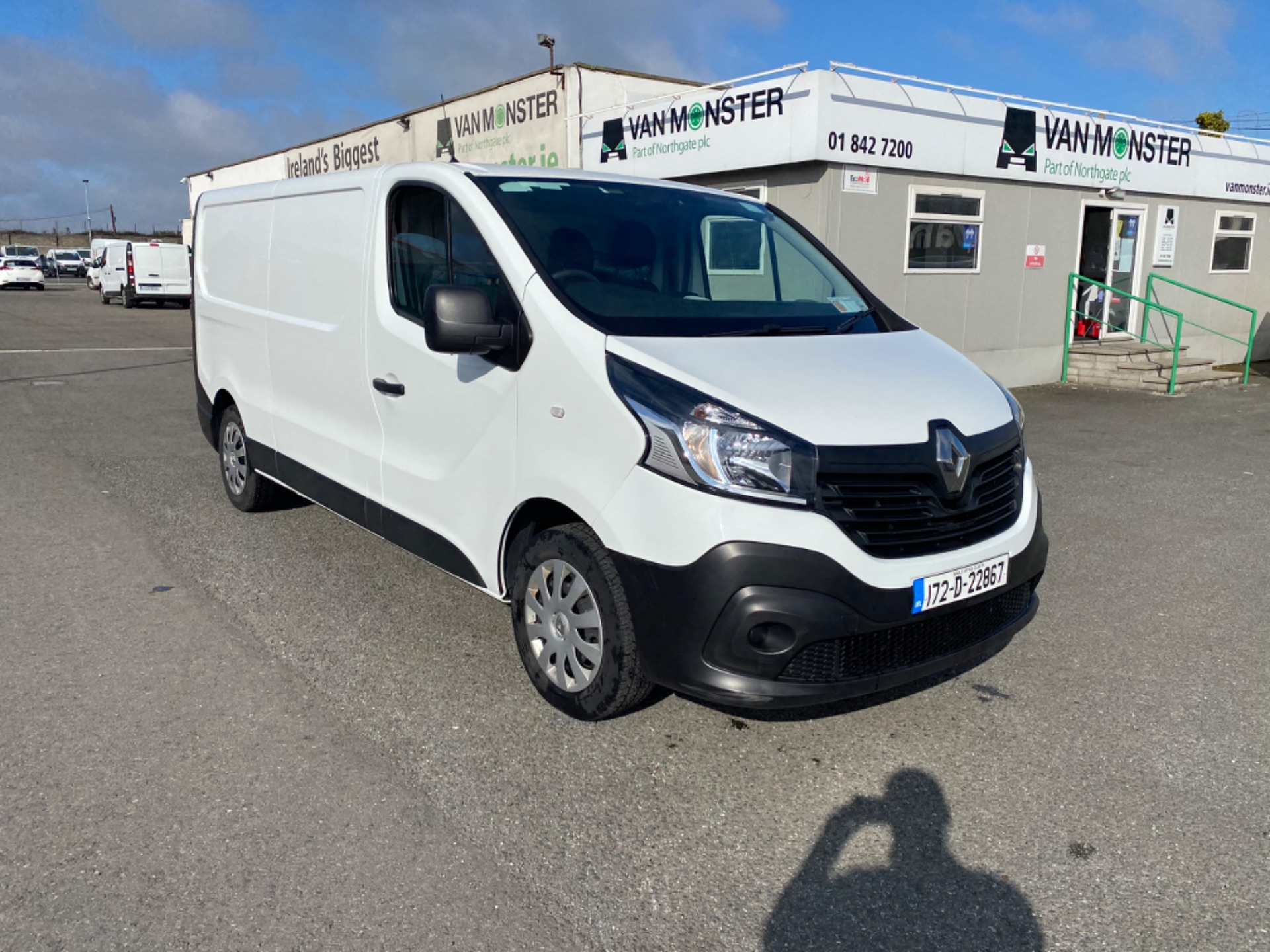 2017 Renault Trafic LL29 DCI 120 Business 3DR (172D22867) Image 2