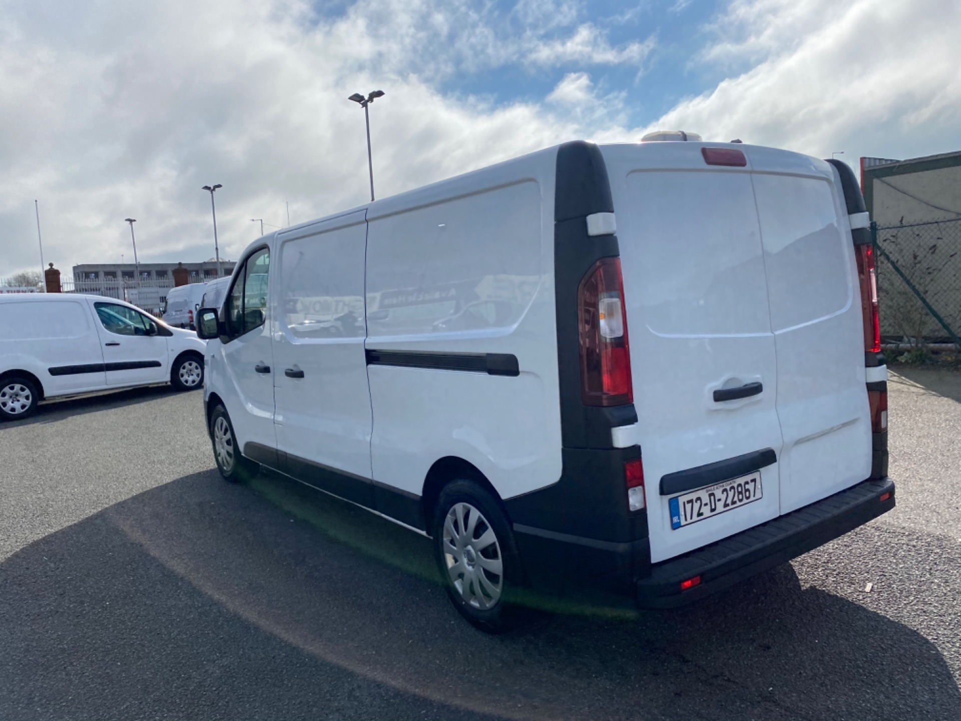 2017 Renault Trafic LL29 DCI 120 Business 3DR (172D22867) Image 5