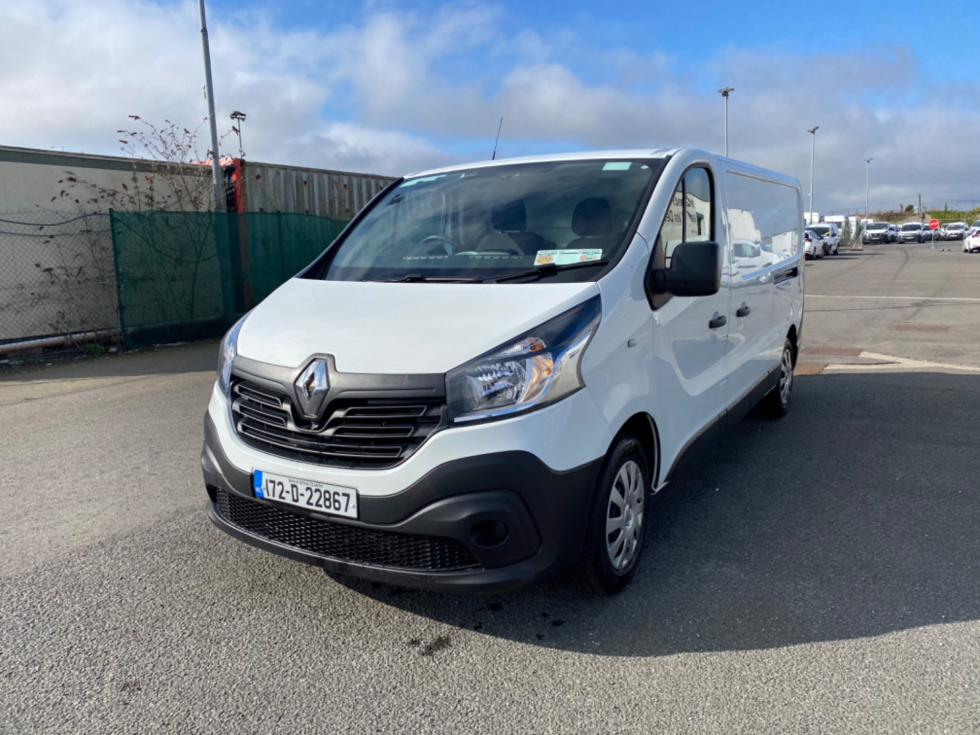 2017 Renault Trafic LL29 DCI 120 Business 3DR (172D22867) Image 3