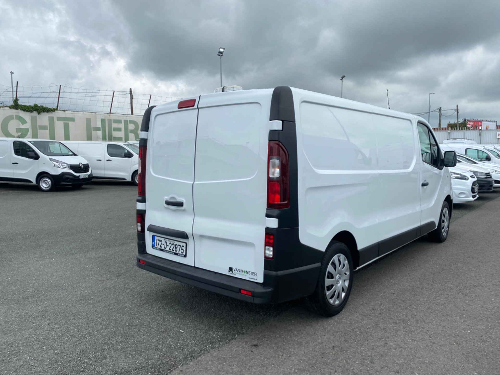2017 Renault Trafic LL29 DCI 120 Business 3DR (172D22875) Image 7