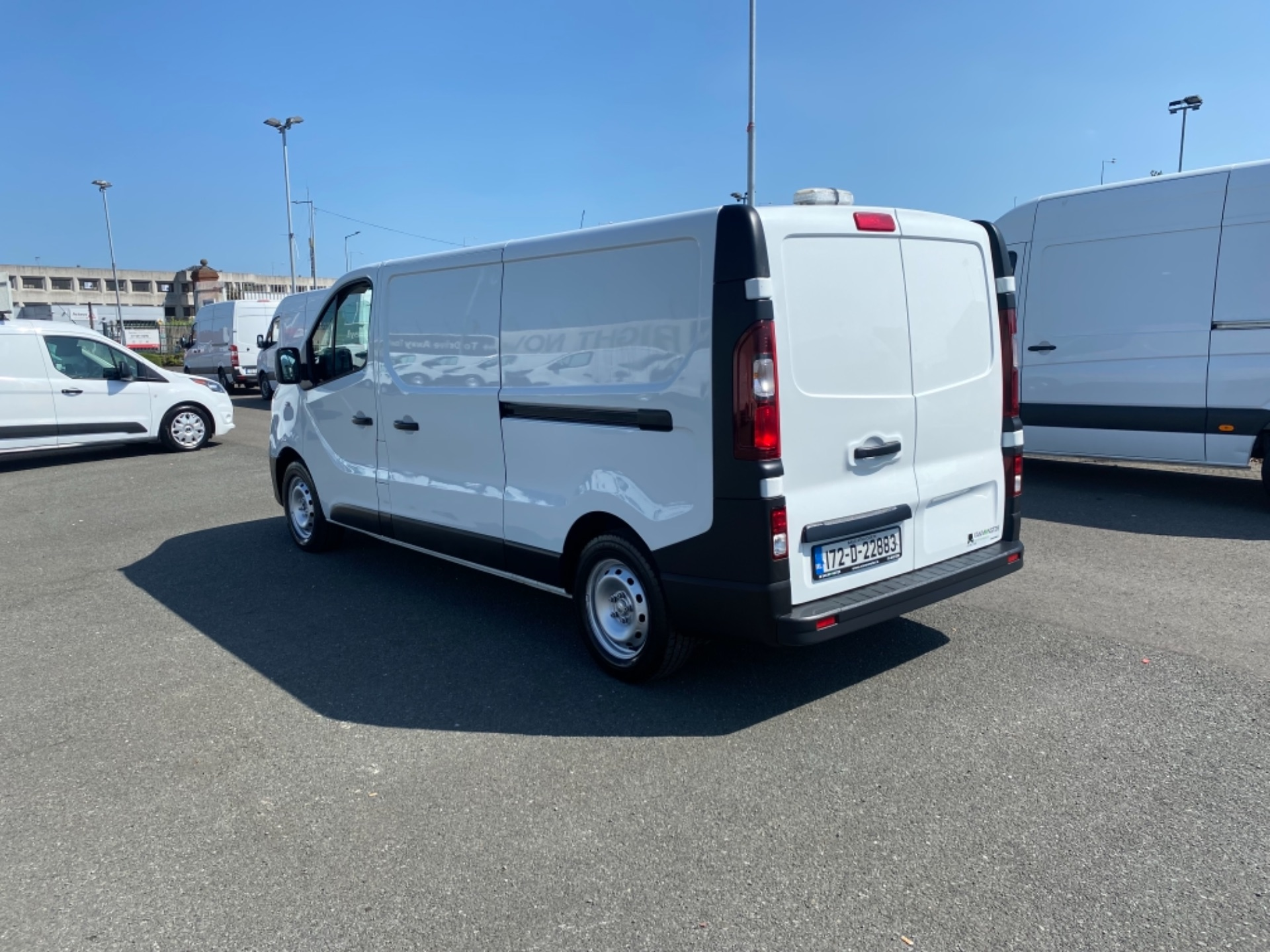 2017 Renault Trafic LL29 DCI 120 Business 3DR (172D22883) Image 8
