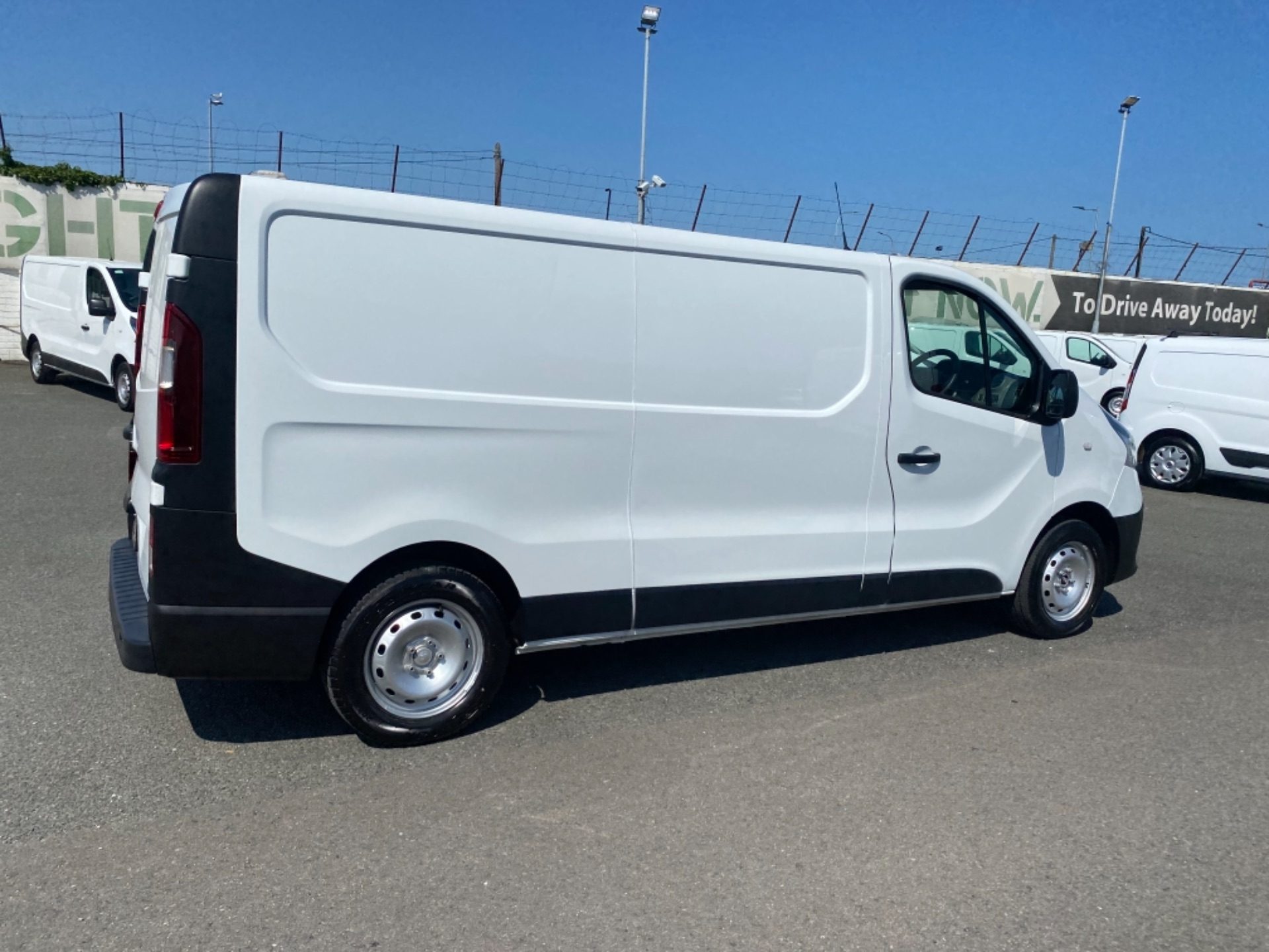 2017 Renault Trafic LL29 DCI 120 Business 3DR (172D22883) Image 7