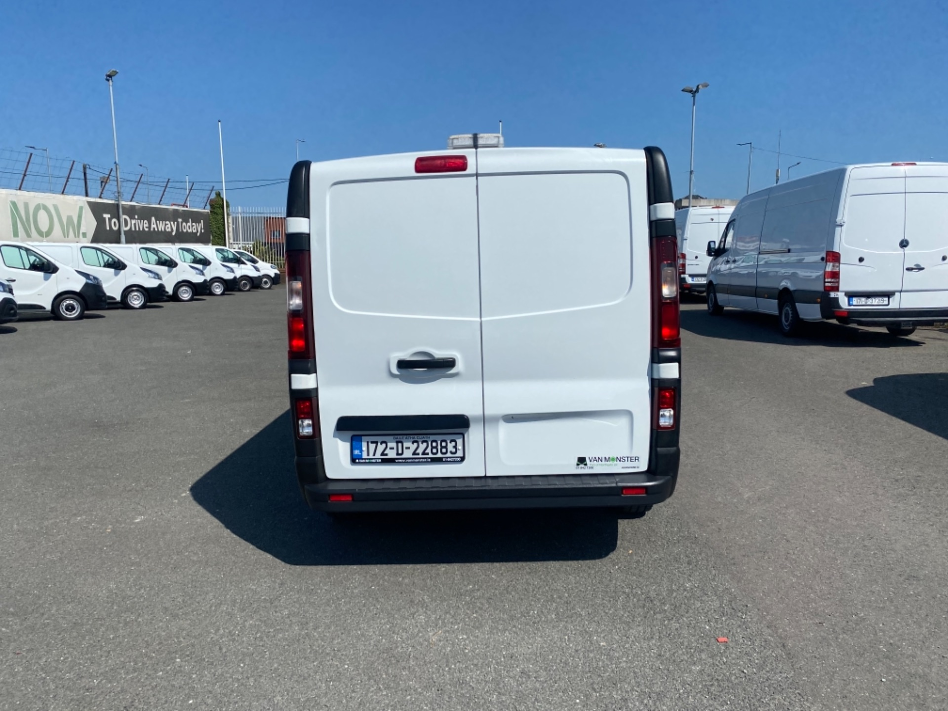 2017 Renault Trafic LL29 DCI 120 Business 3DR (172D22883) Image 10