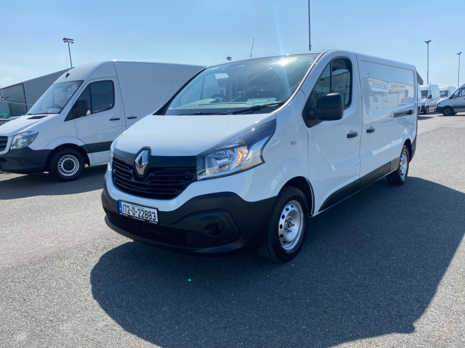 2017 Renault Trafic LL29 DCI 120 Business 3DR (172D22883) Image 12
