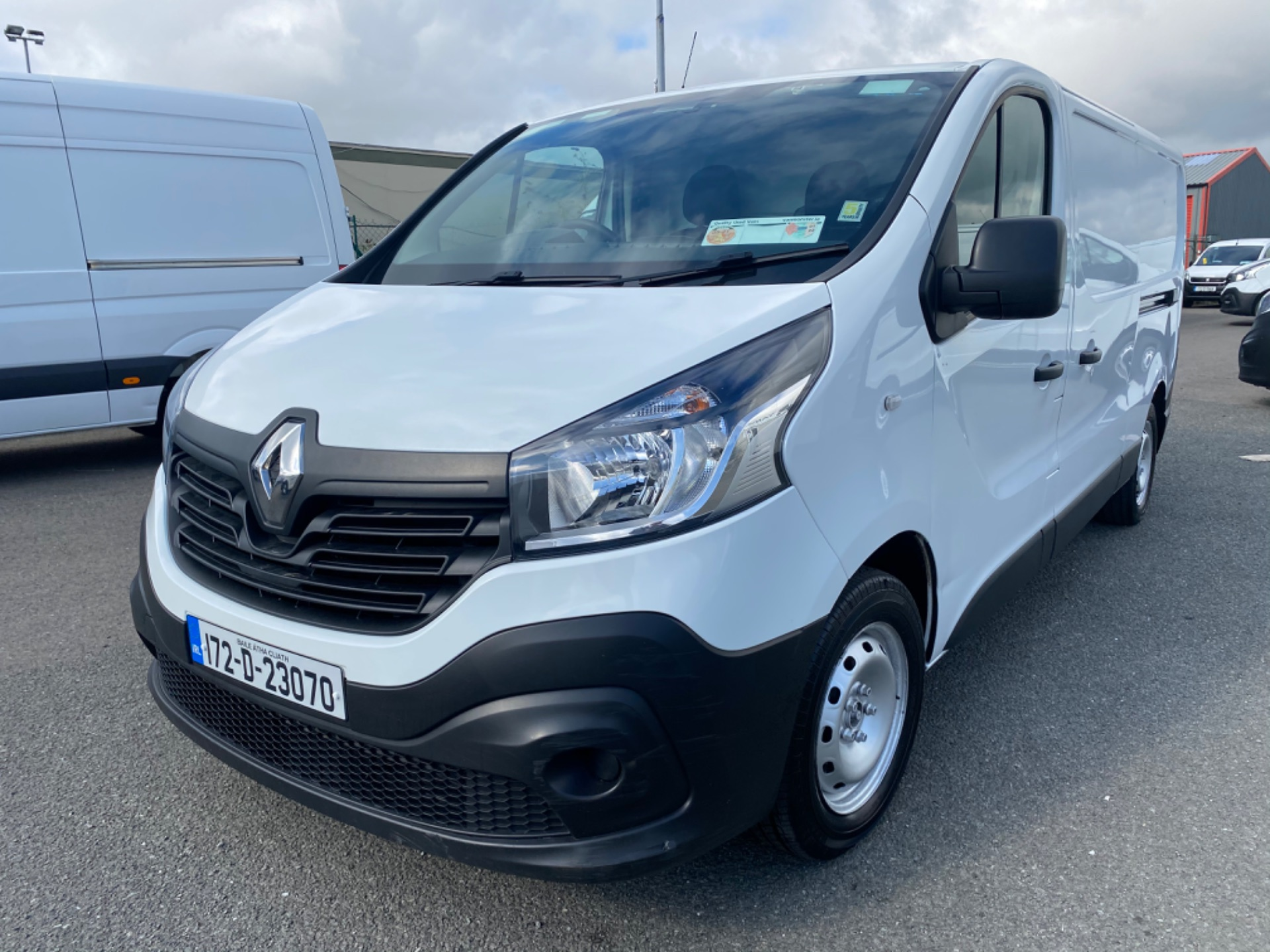 2017 Renault Trafic LL29 DCI 120 Business 3DR (172D23070) Image 3