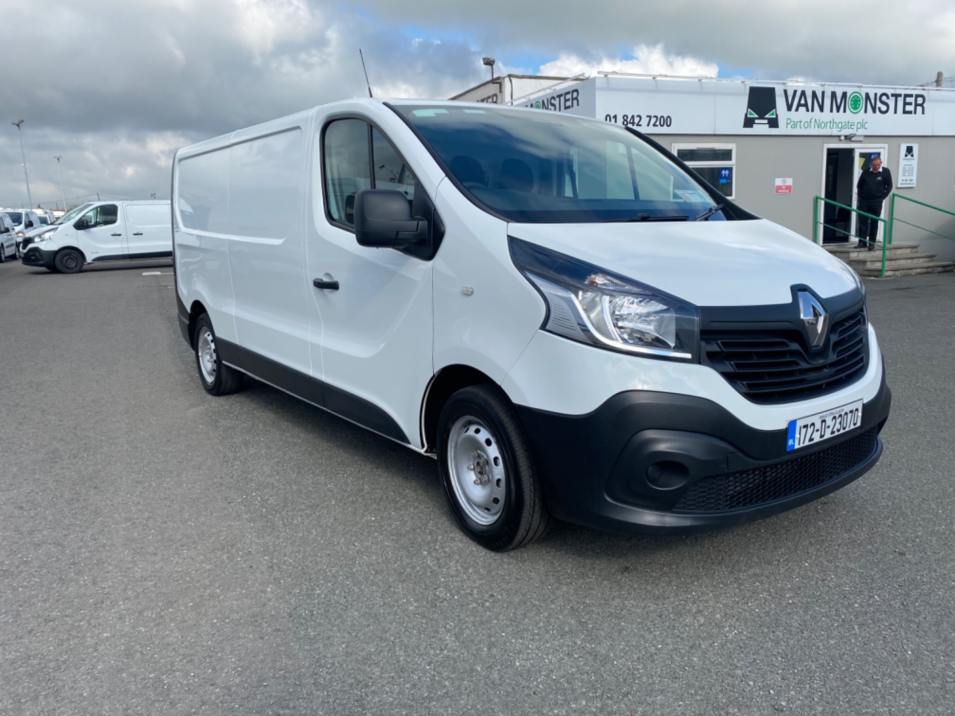 2017 Renault Trafic LL29 DCI 120 Business 3DR (172D23070) Image 2