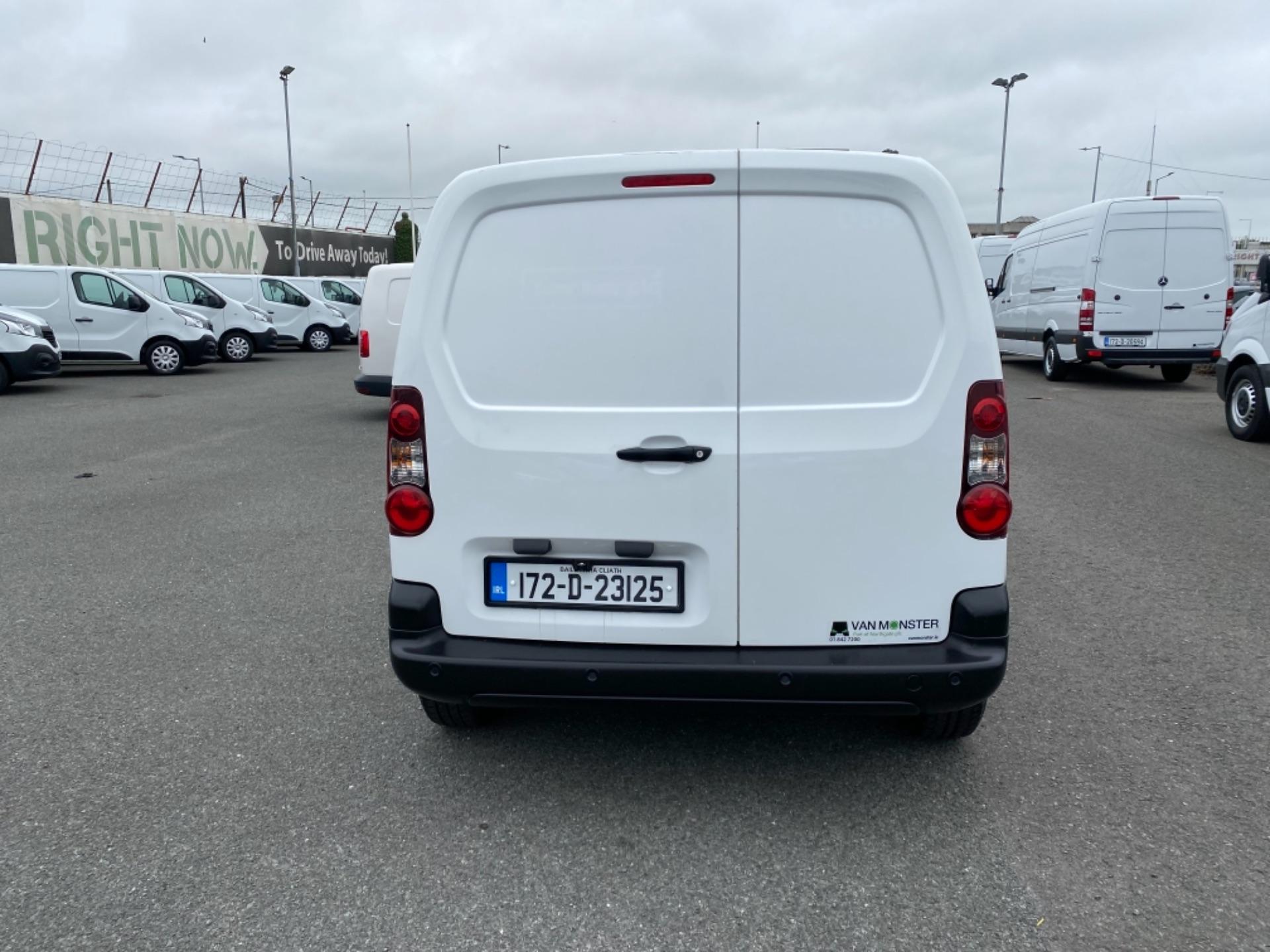 2017 Peugeot Partner BLUE HDI PROFESSIONAL L1 (172D23125) Image 6
