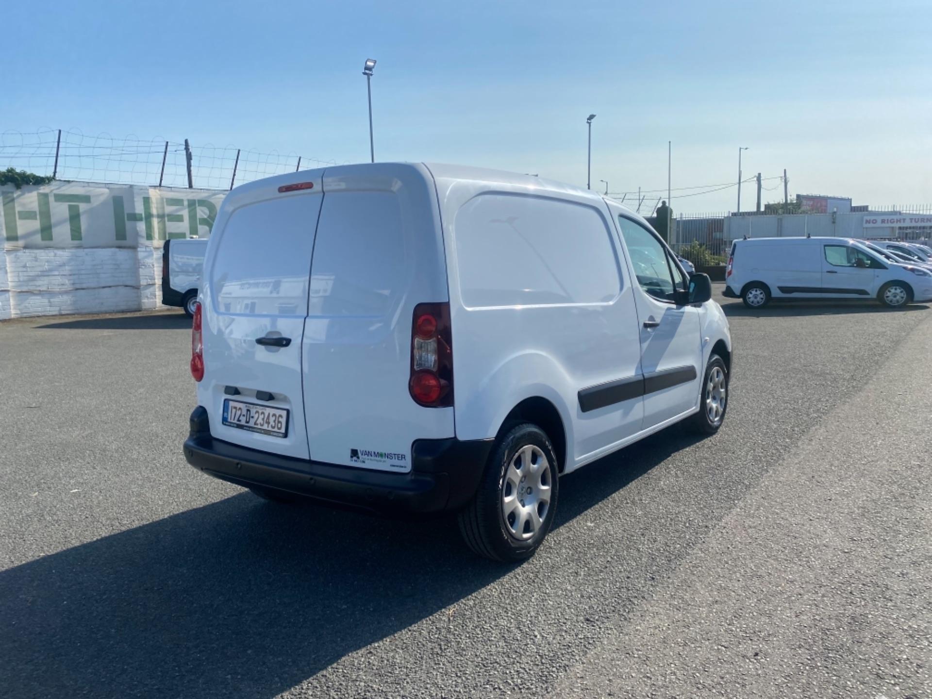 2017 Peugeot Partner BLUE HDI PROFESSIONAL L1 (172D23436) Image 7