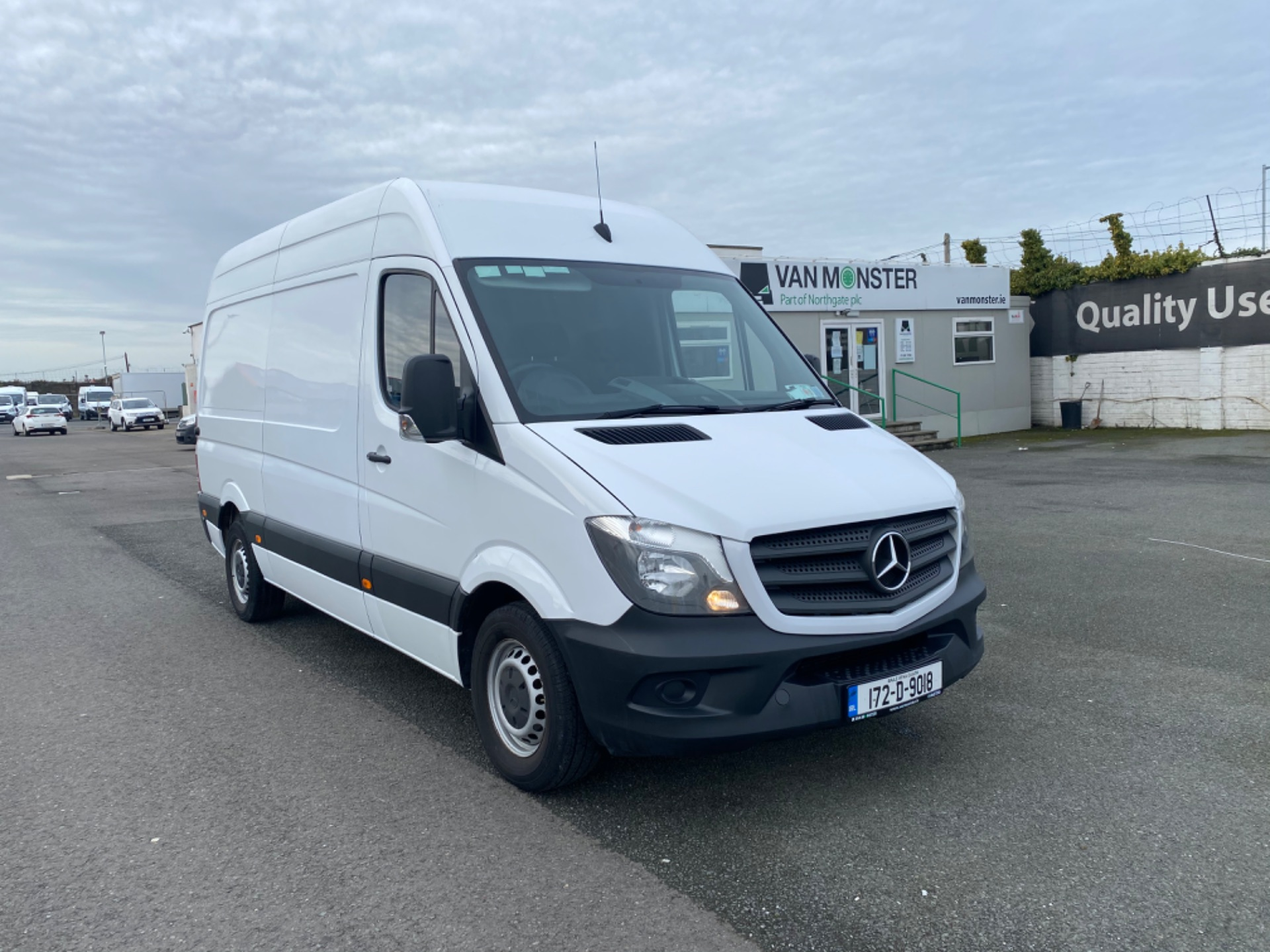 2017 Mercedes-Benz Sprinter 314/36 EU6 6DR (172D9018) Thumbnail 1
