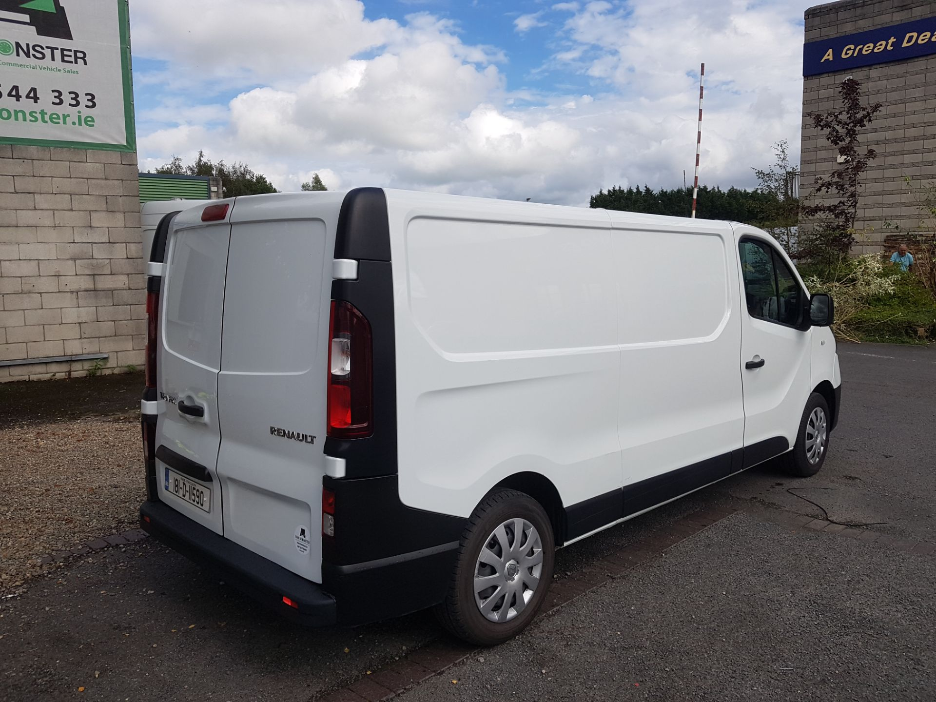 2018 Renault Trafic LL29 DCI 120 BUSINESS 3DR (181D11590) Image 3