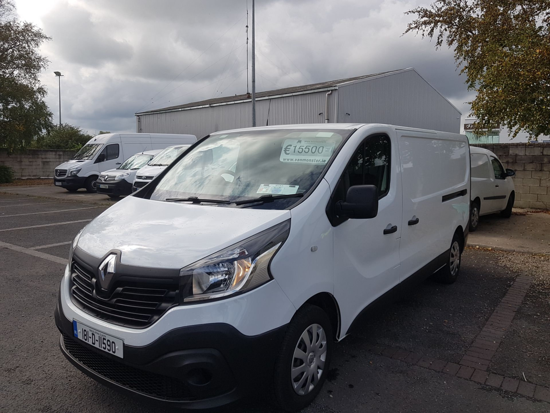 2018 Renault Trafic LL29 DCI 120 BUSINESS 3DR (181D11590) Image 7
