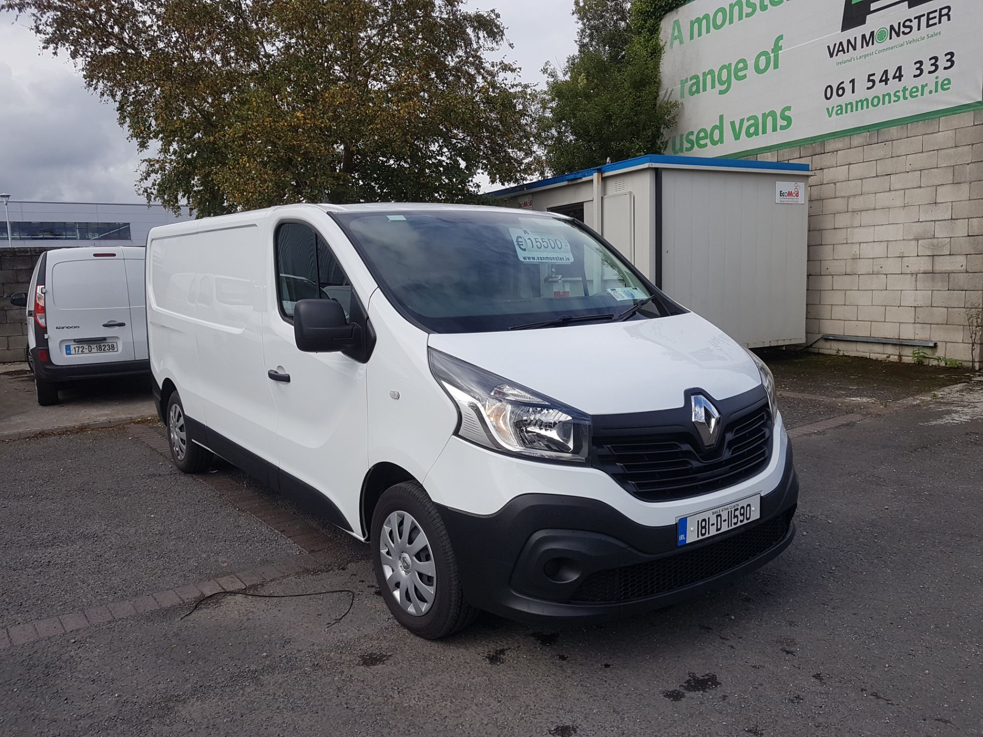 2018 Renault Trafic LL29 DCI 120 BUSINESS 3DR (181D11590) Image 1