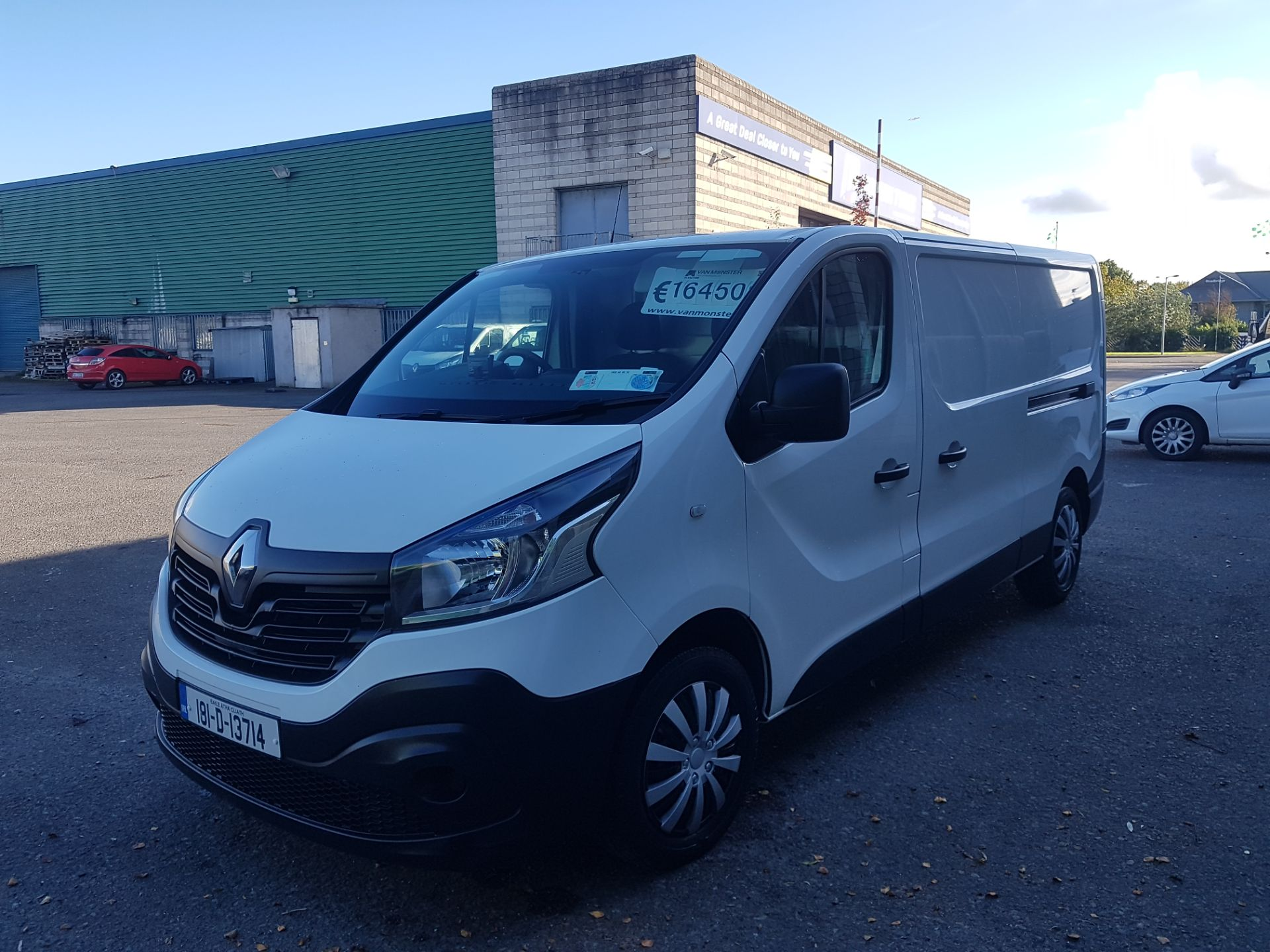 2018 Renault Trafic LL29 DCI 120 Business 3DR (181D13714) Image 7