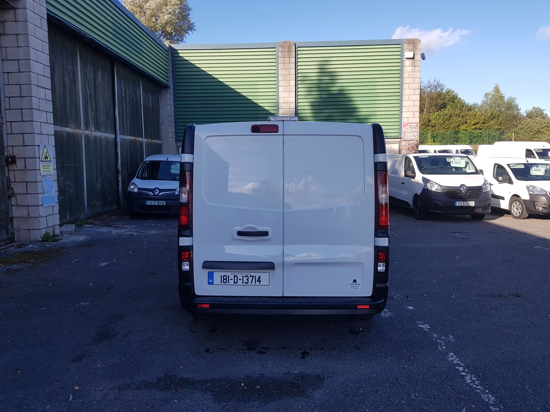 2018 Renault Trafic LL29 DCI 120 Business 3DR (181D13714) Image 4