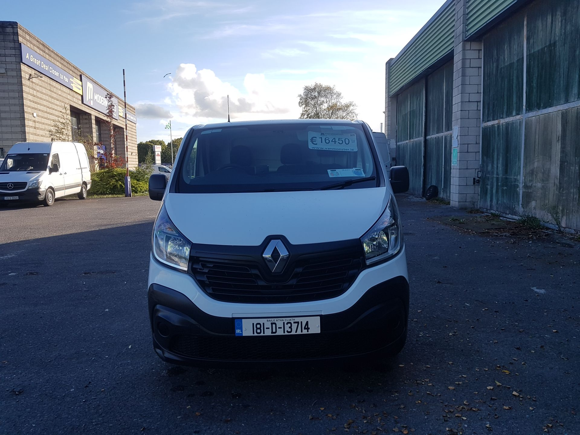 2018 Renault Trafic LL29 DCI 120 Business 3DR (181D13714) Image 8