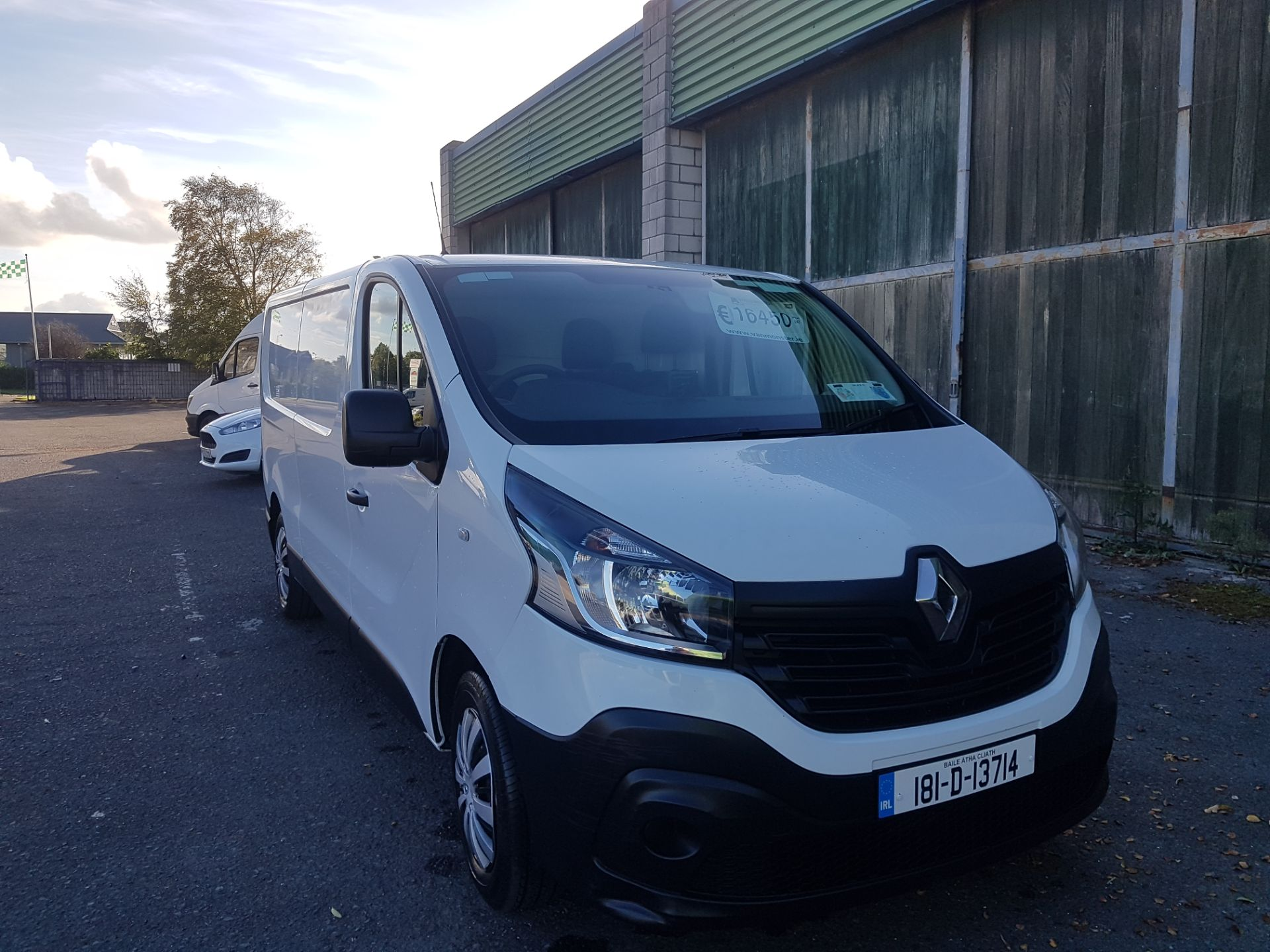 2018 Renault Trafic LL29 DCI 120 Business 3DR (181D13714) Image 1