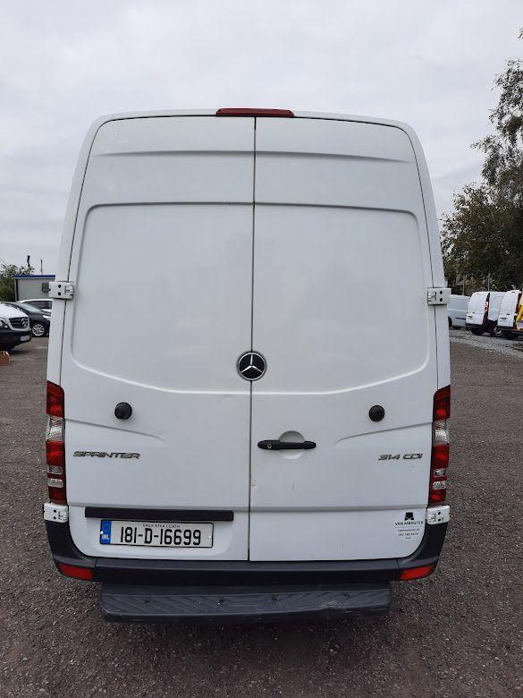 2018 Mercedes-Benz Sprinter 314/36 EU6 6DR MWB (181D16699) Image 11