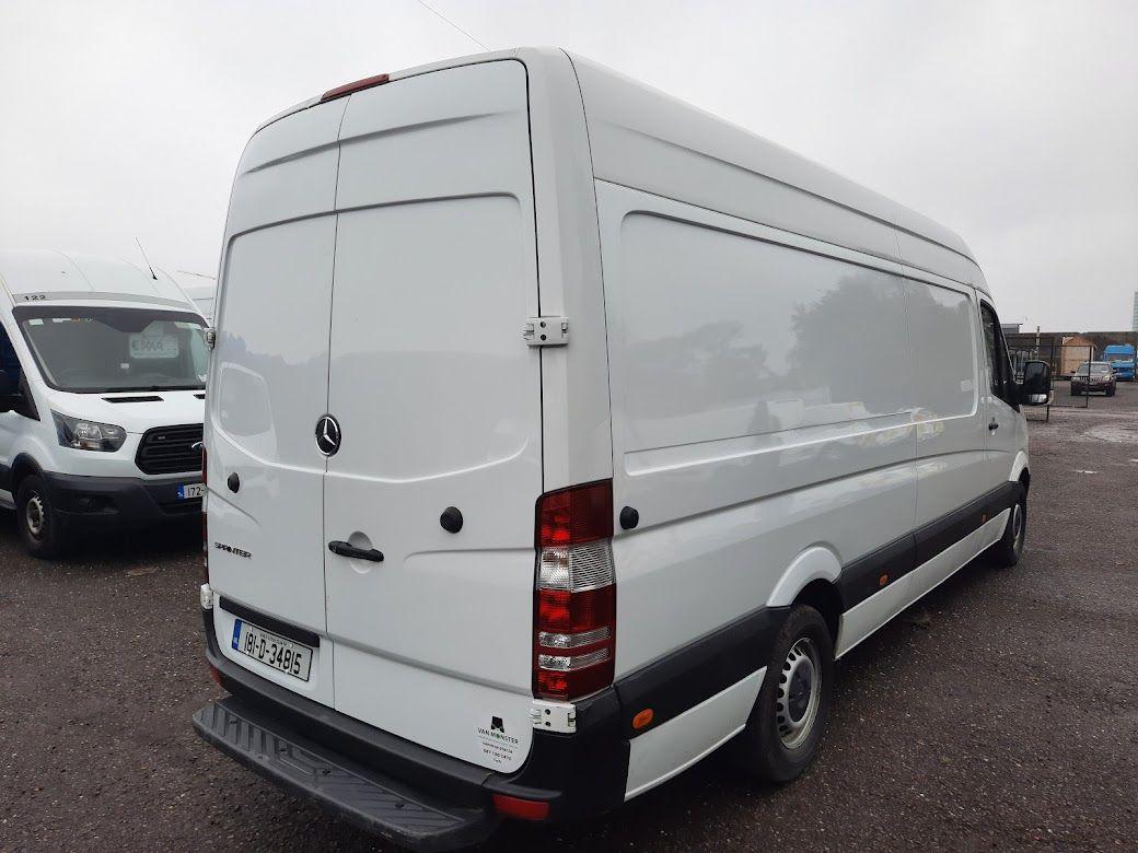2018 Mercedes-Benz Sprinter 314/43 EU6 6DR LWB (181D34815) Image 10