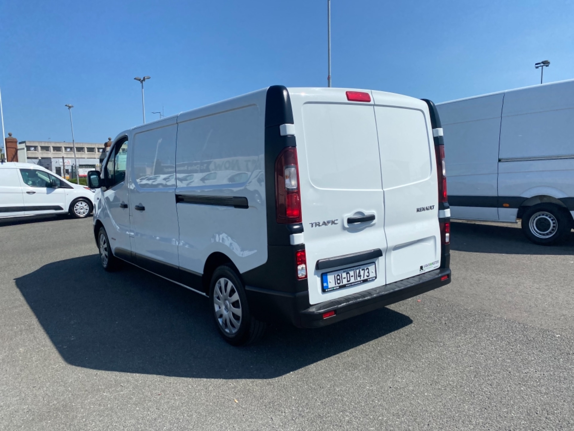 2018 Renault Trafic LL29 DCI 120 Business 3DR (181D11473) Image 4