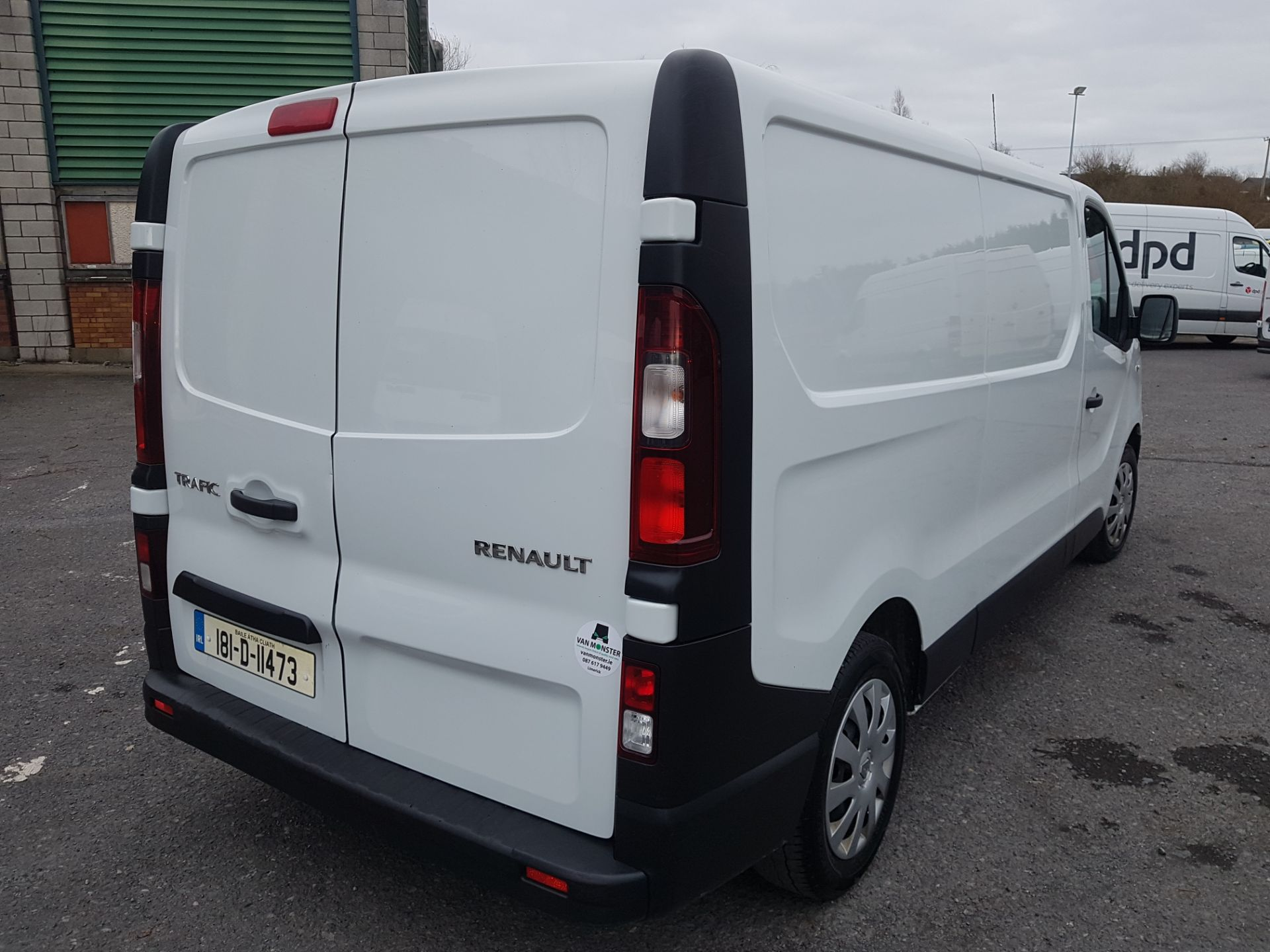 2018 Renault Trafic LL29 DCI 120 Business 3DR (181D11473) Image 5