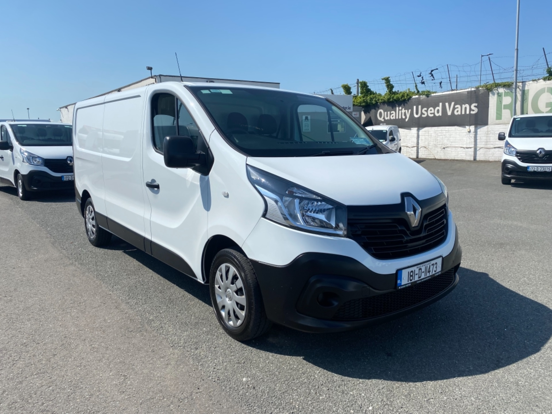 2018 Renault Trafic LL29 DCI 120 Business 3DR (181D11473) Image 1