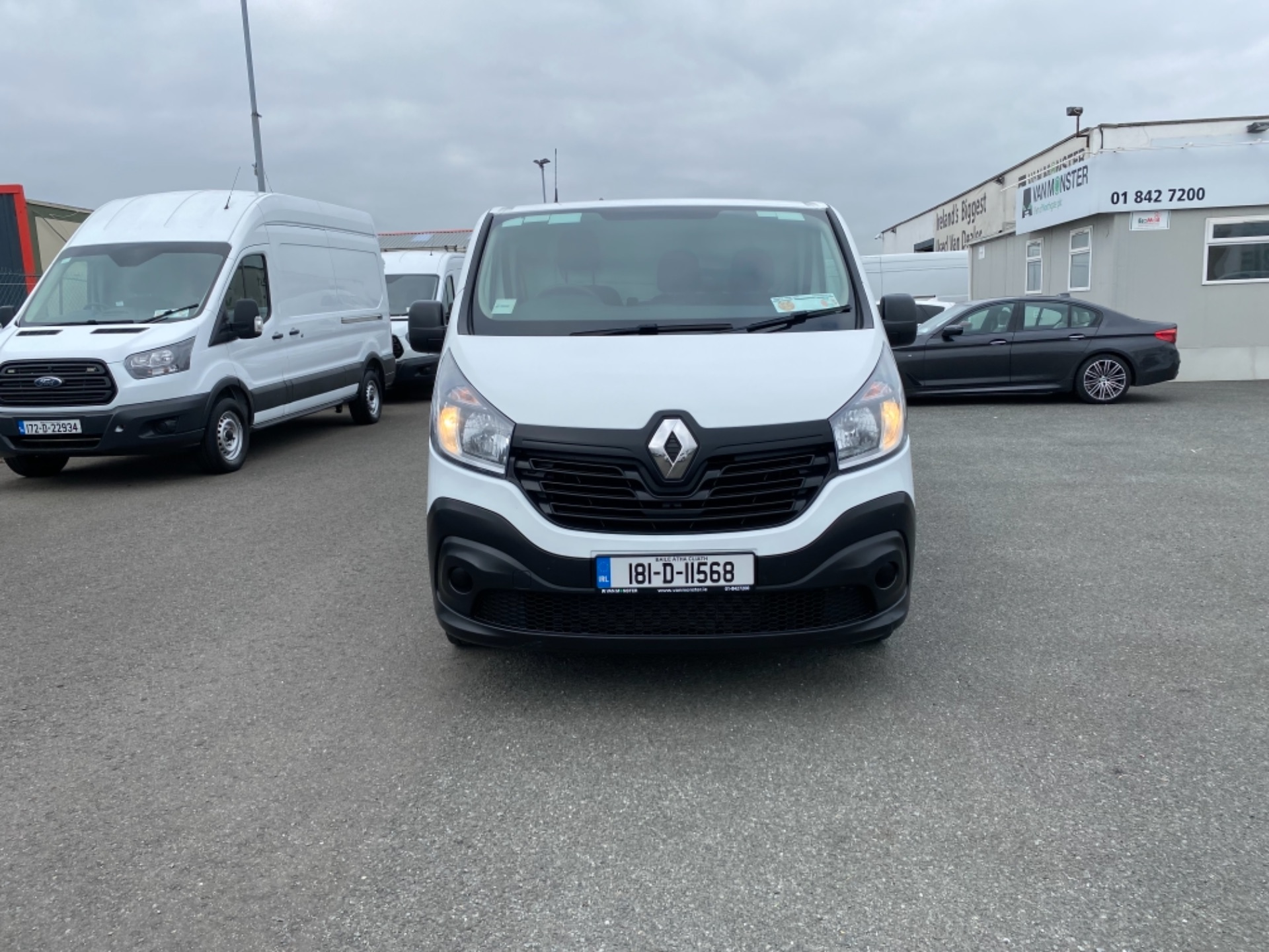 2018 Renault Trafic LL29 DCI 120 Business 3DR (181D11568) Image 2