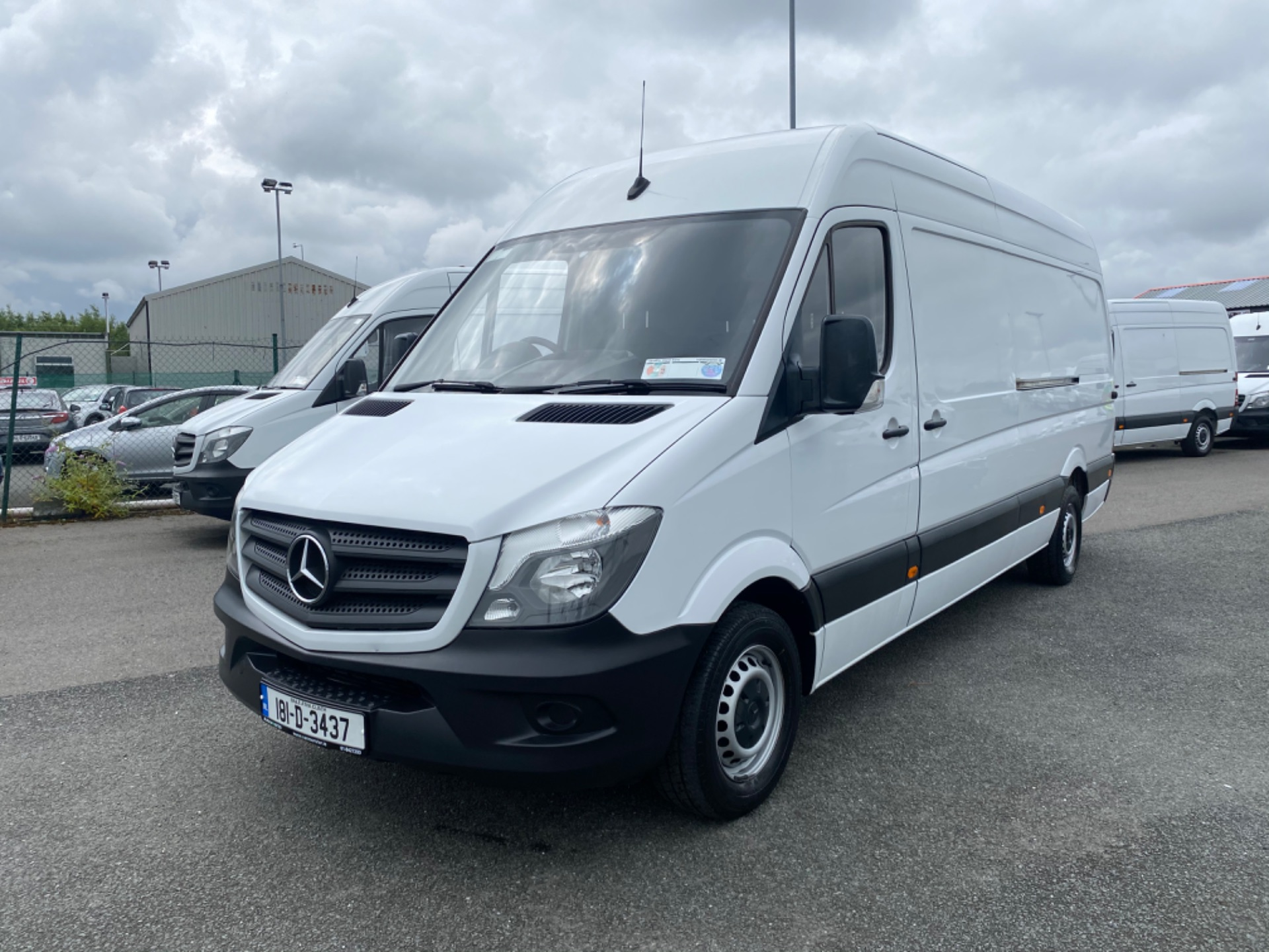 2018 Mercedes-Benz Sprinter 314/43 EU6 6DR (181D3437) Image 2