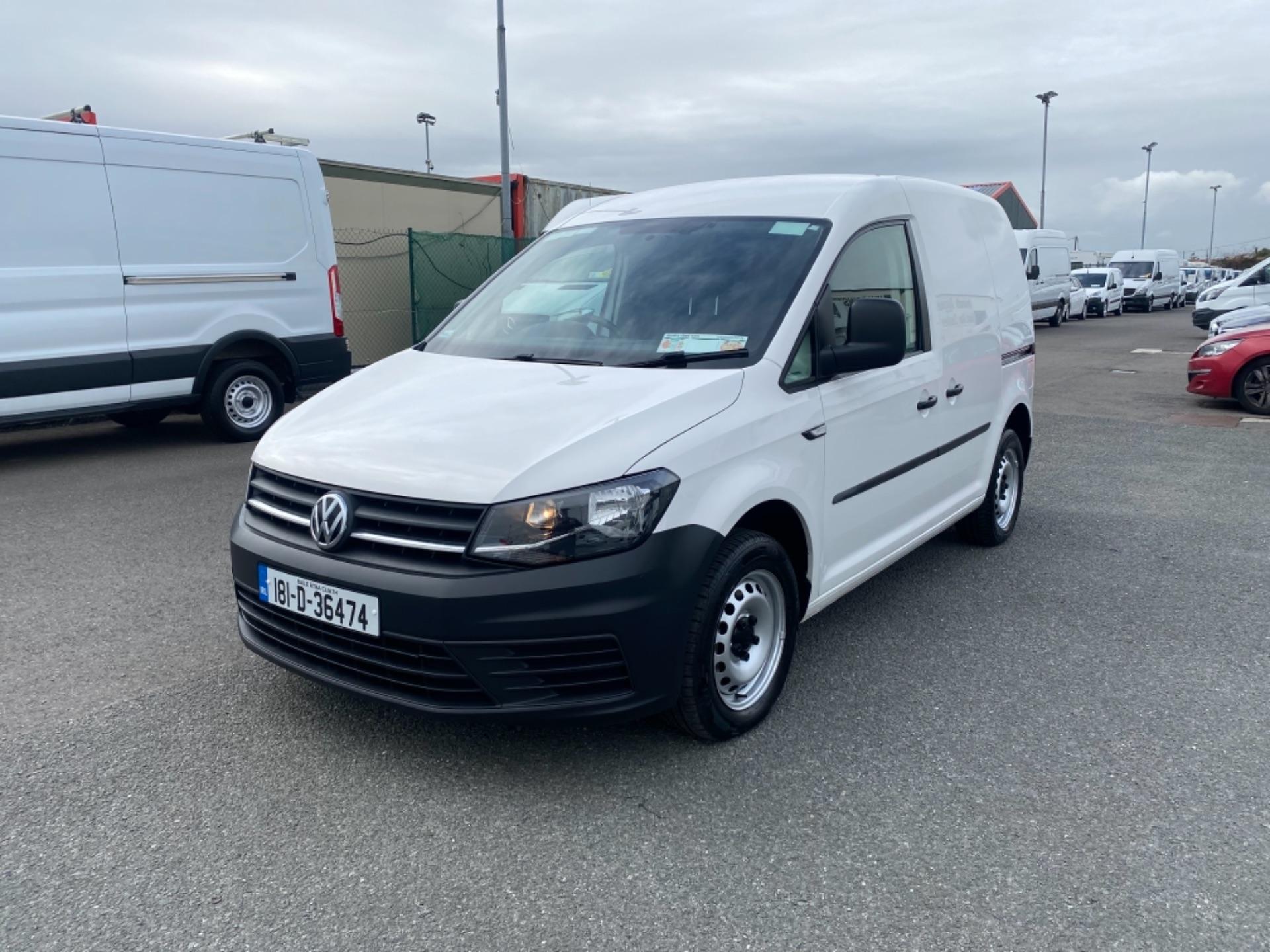 2018 Volkswagen Caddy PV TDI 102HP M5F (181D36474) Image 3