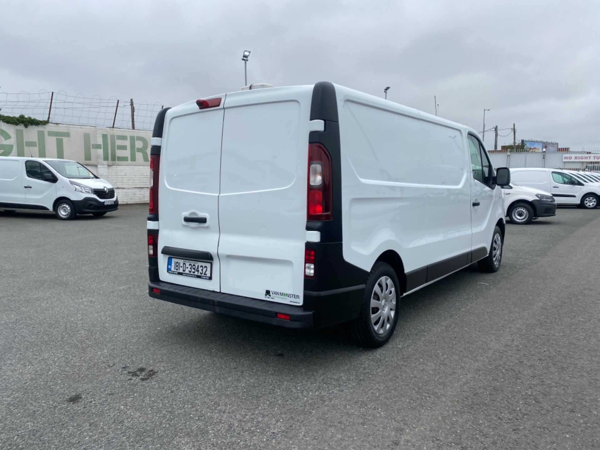2018 Renault Trafic LL29 DCI 120 Business 3DR (181D39432) Image 7