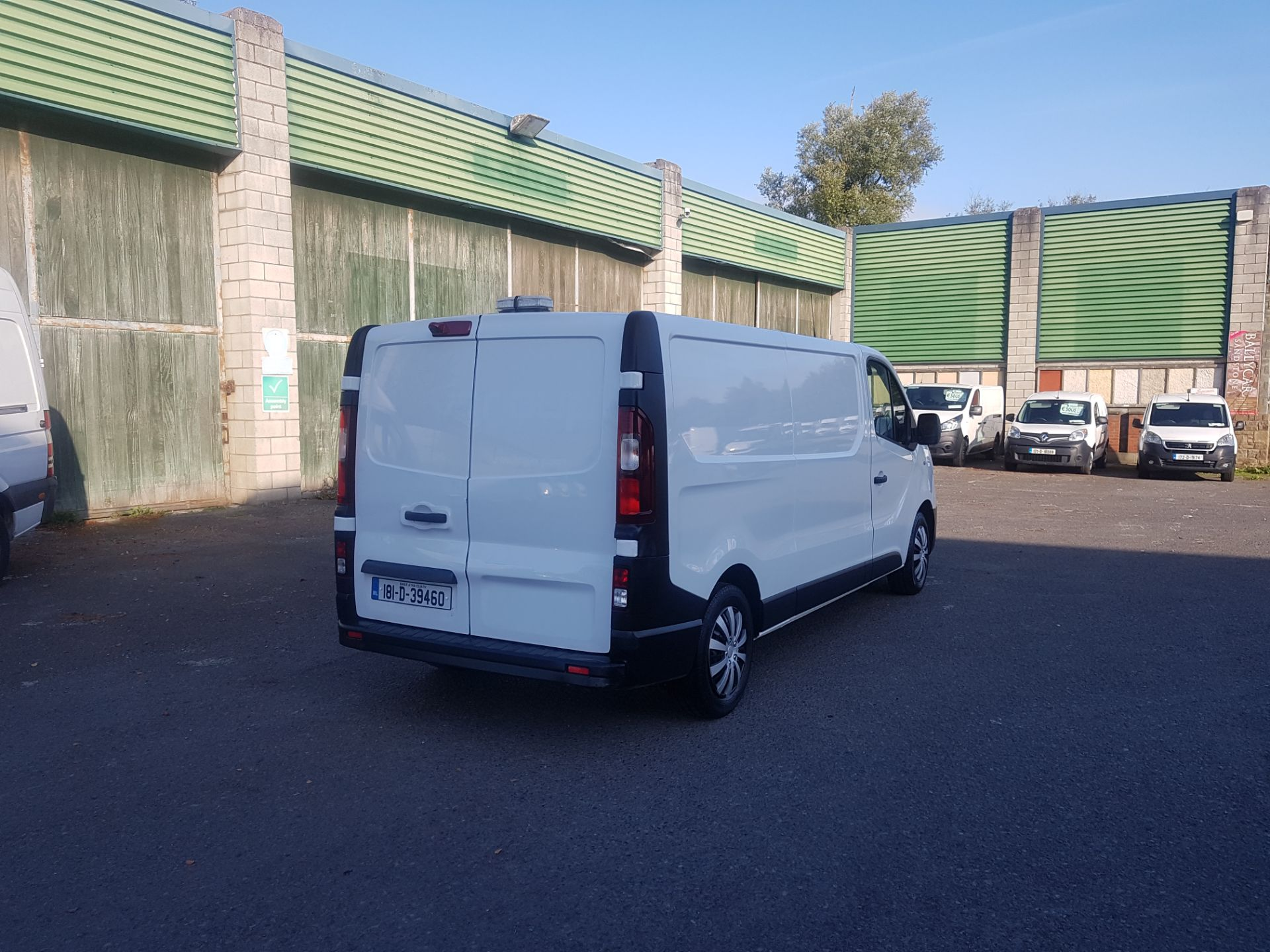 2018 Renault Trafic LL29 DCI 120 Business 3DR (181D39460) Image 3
