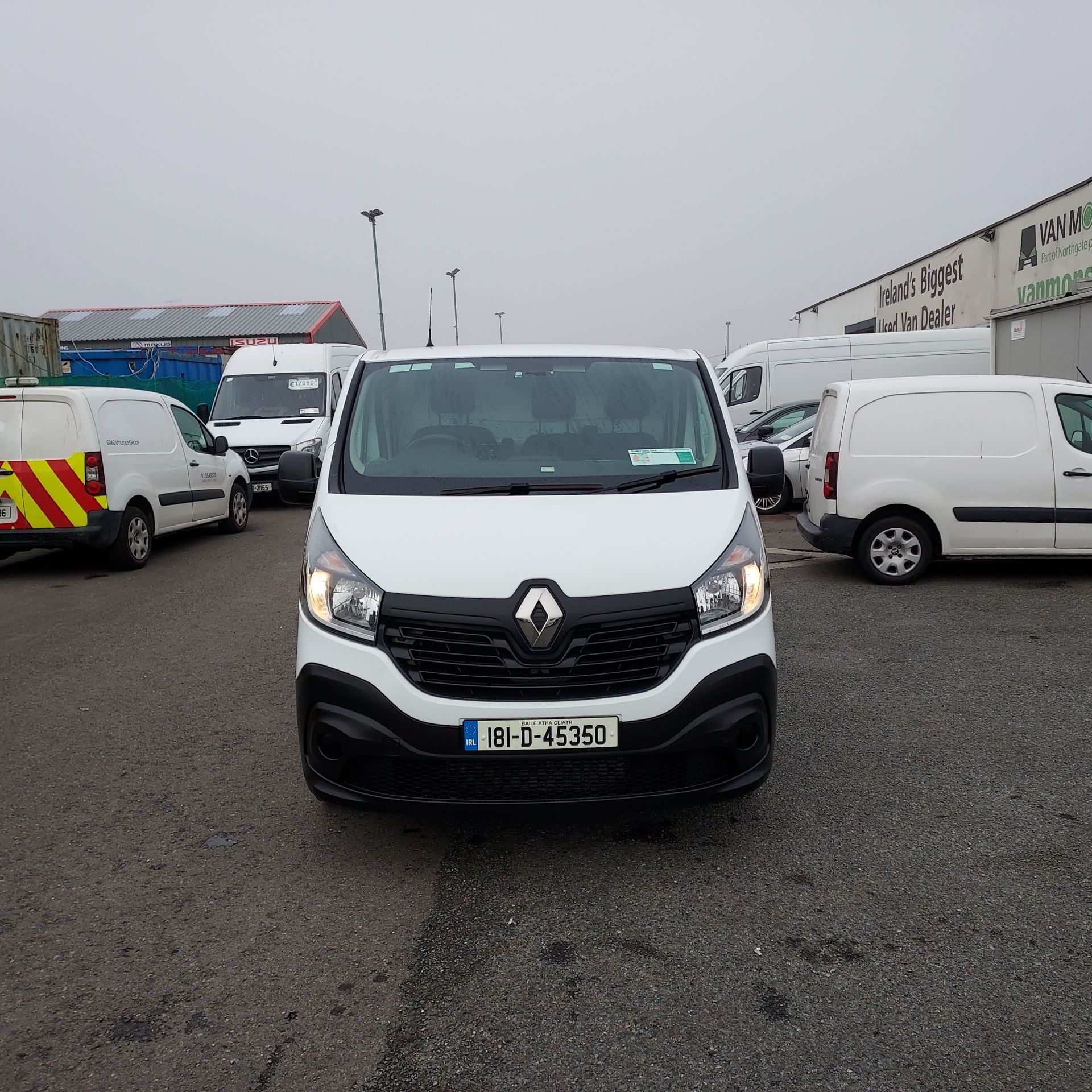 2018 Renault Trafic LL29 DCI 120 BUSINESS 3DR (181D45350) Image 2