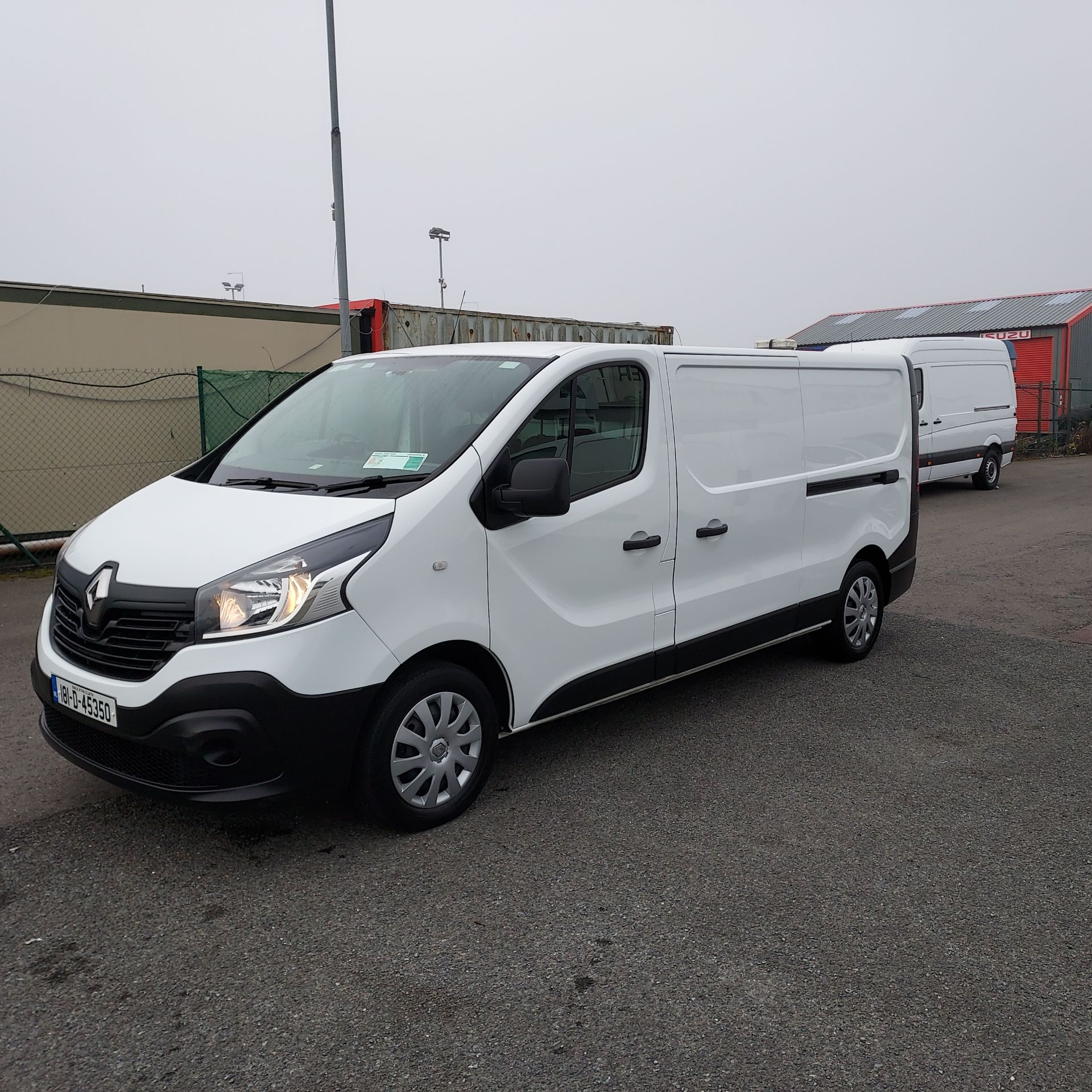 2018 Renault Trafic LL29 DCI 120 BUSINESS 3DR (181D45350) Image 3