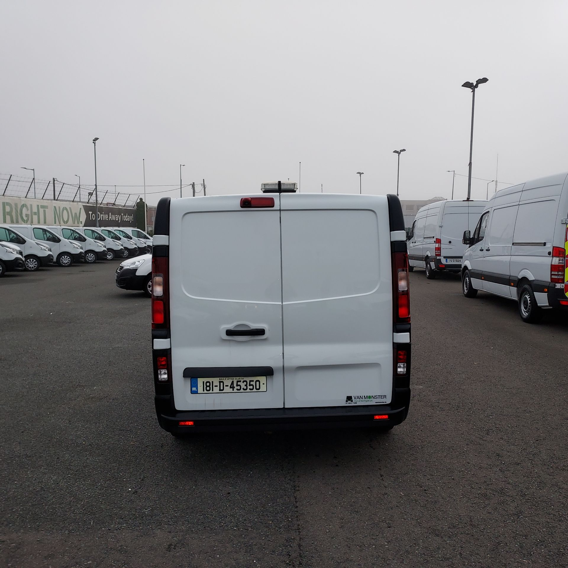 2018 Renault Trafic LL29 DCI 120 BUSINESS 3DR (181D45350) Image 5