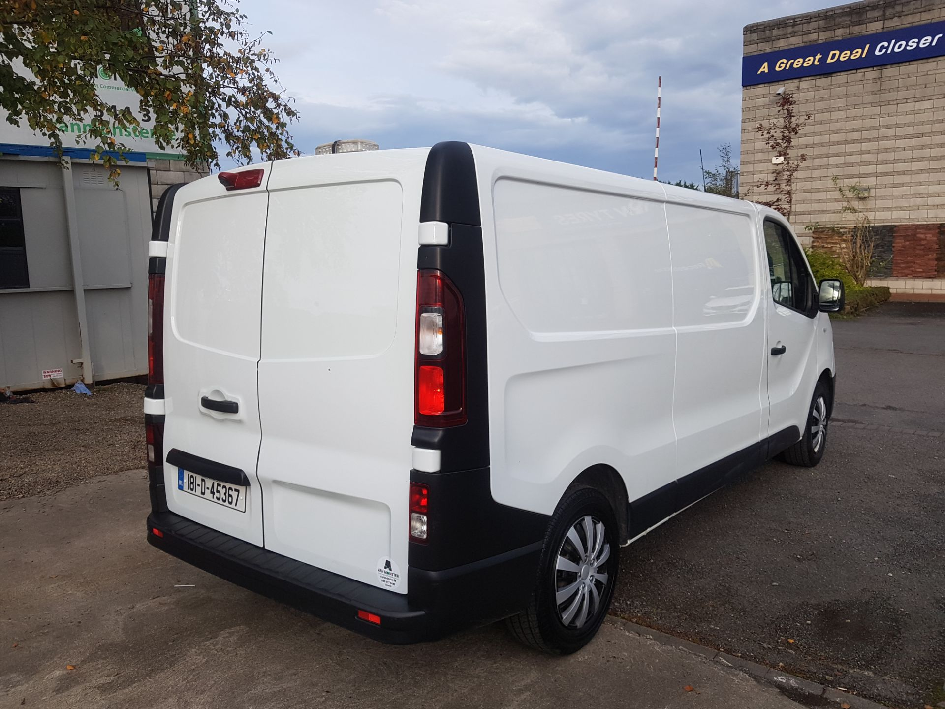 2018 Renault Trafic LL29 DCI 120 Business 3DR (181D45367) Image 3